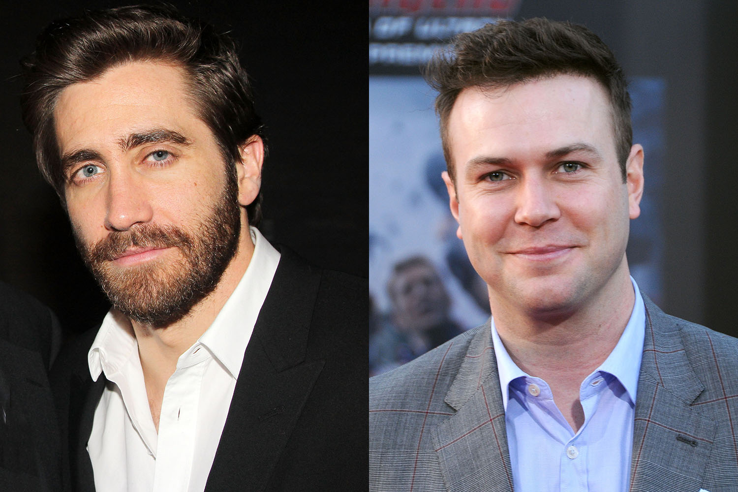 Jake Gyllenhaal (left),   Taran Killam