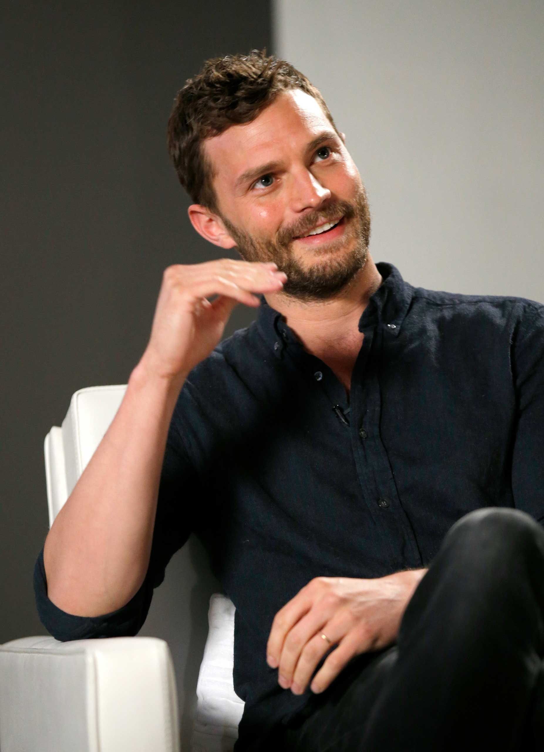Actor Jamie Dornan speaks during Variety Studio Actors on Actors presented by Autograph Collection Hotels on March 29, 2015 in Los Angeles.