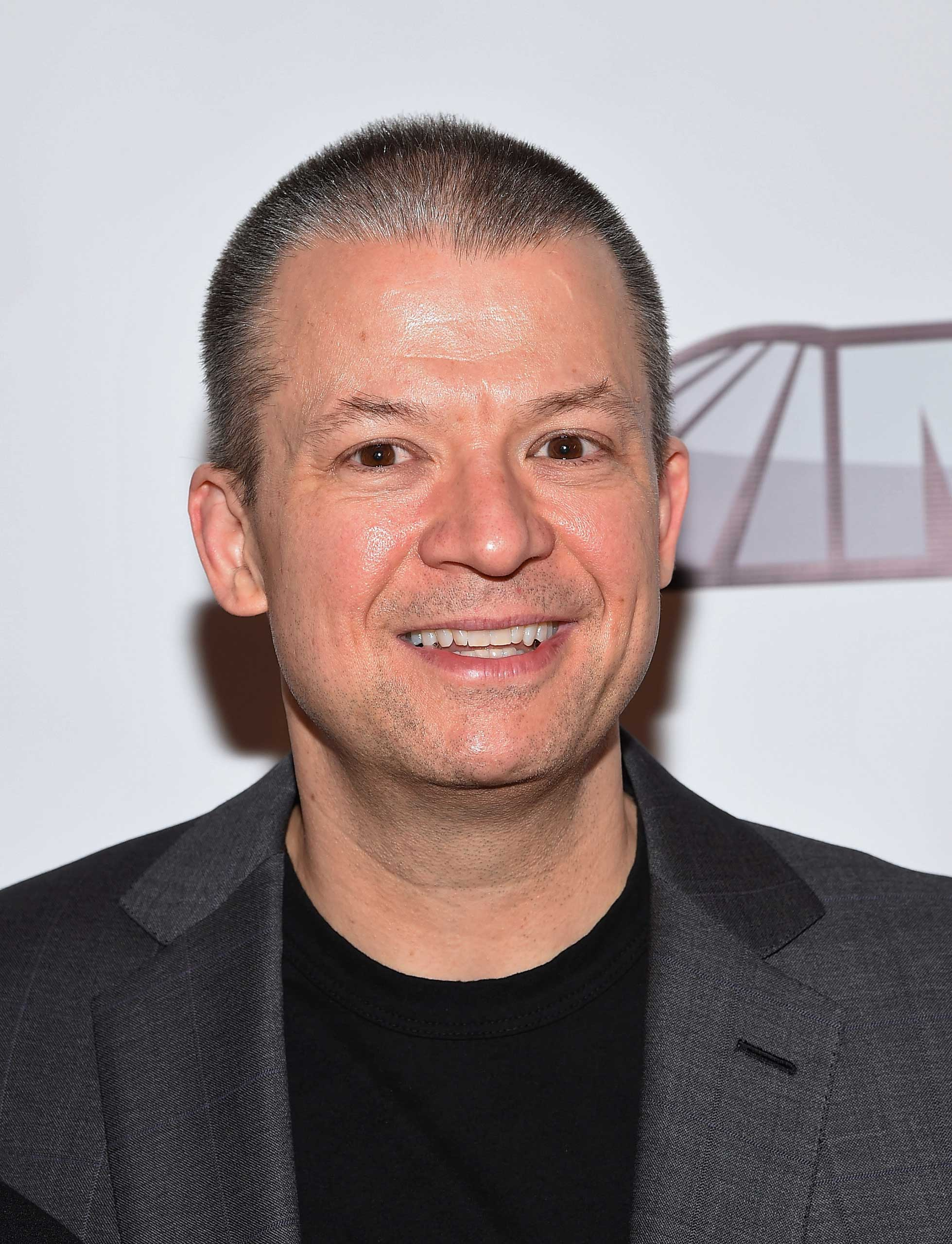 Comedian Jim Norton attends MSG Networks Original Programming Party at Madison Square Garden on February 5, 2015 in New York City.