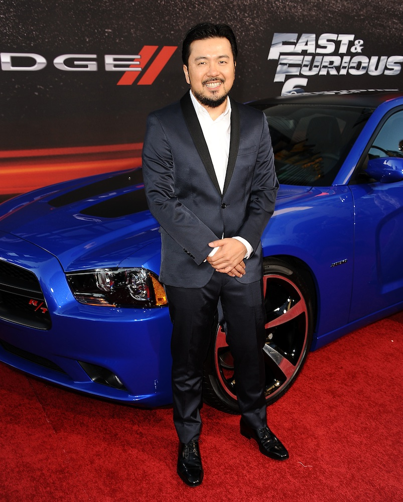 Justin Lin at the premiere of Fast and Furious 6