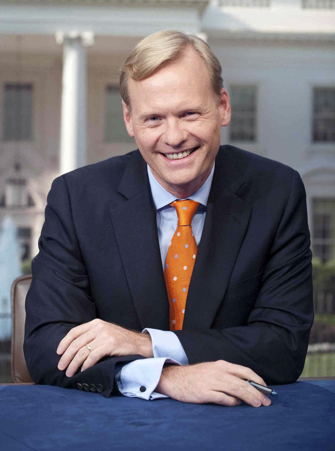 This 2012 photo provided by CBS News shows CBS News political director John Dickerson, in Washington. Dickerson will replace the retiring Bob Schieffer as moderator of  Face the Nation,  Schieffer announced Sunday, April 12, 2015