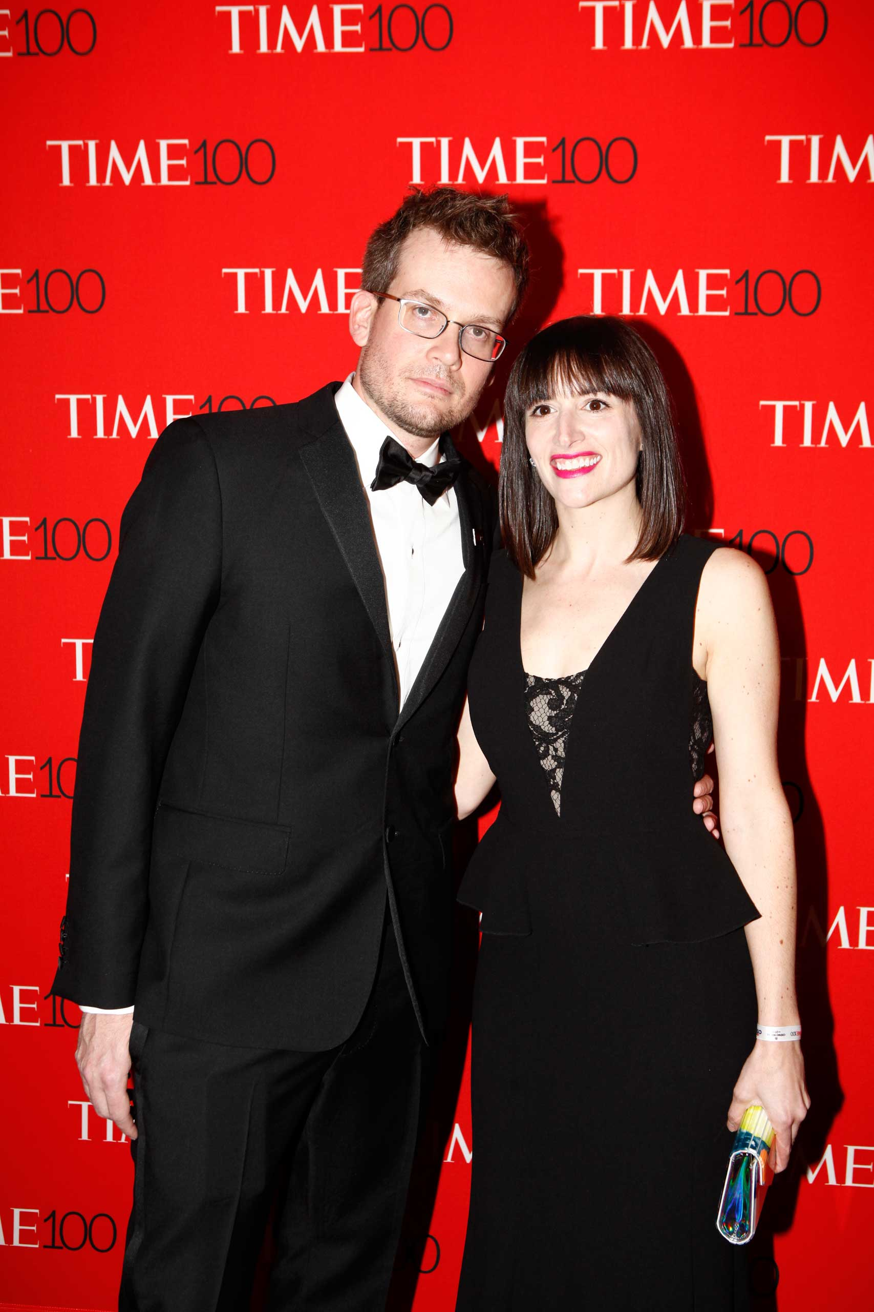 John Green and Sarah Urist Green attend the TIME 100 Gala at Jazz at Lincoln Center in New York City on Apr. 21, 2015.