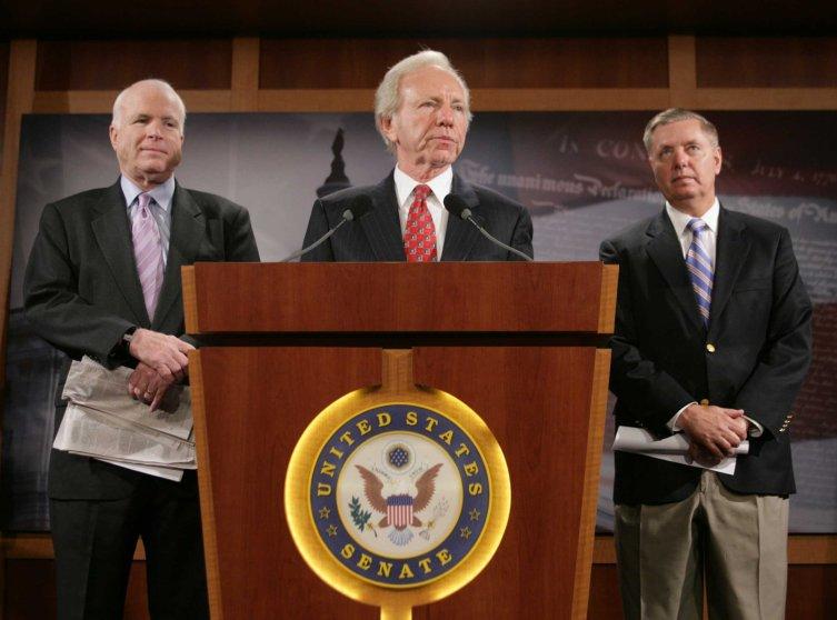 Lindsey Graham John McCain Joe Lieberman