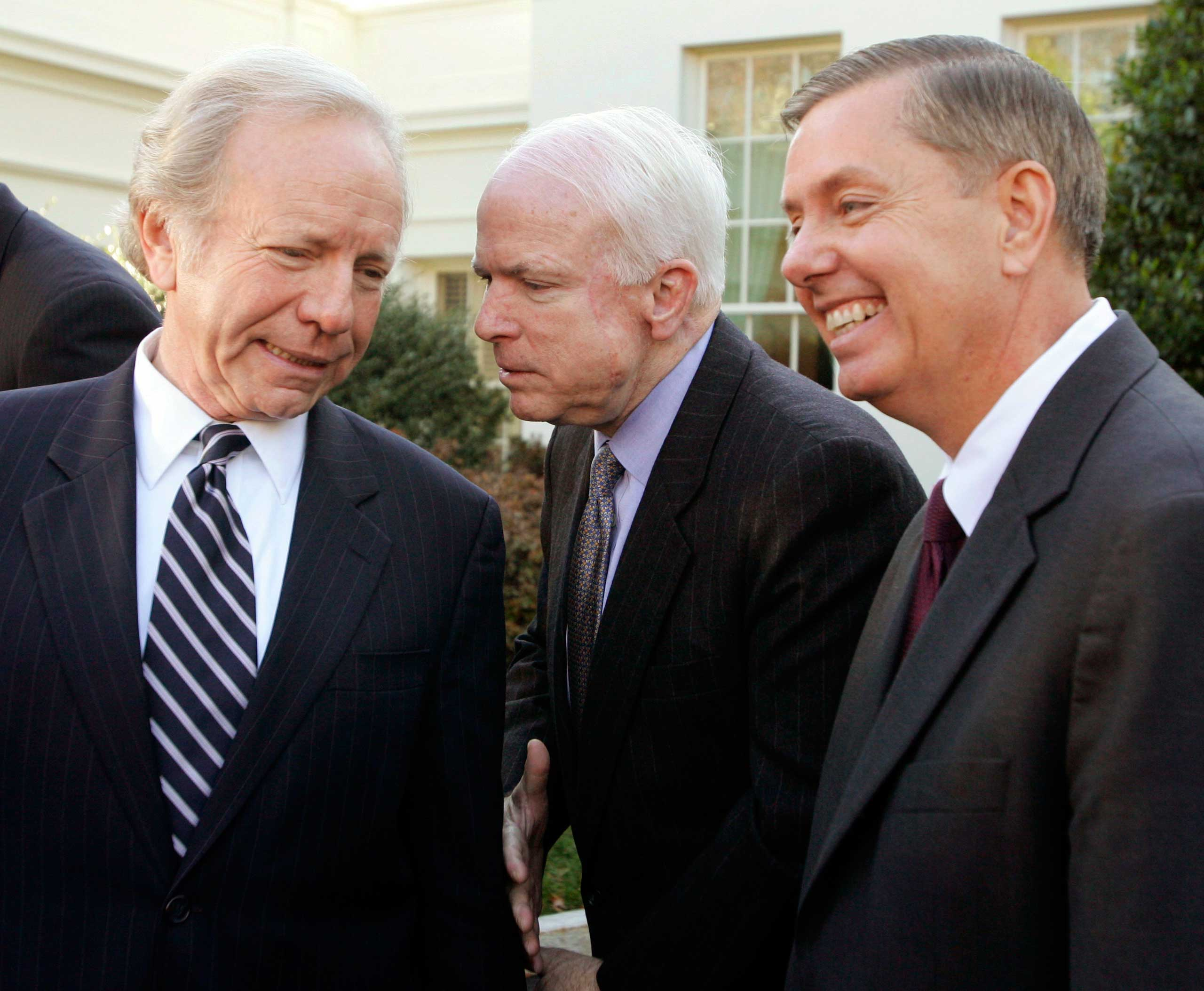 Lieberman ran for vice president in 2000 alongside Al Gore then mounted his own unsuccessful bid for the nomination in 2004.