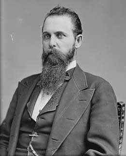 John H. Mitchell                                                              Terms: 1873-79, 1885-97, 1901-05                               Party: Republican                               State: Oregon                               A grand jury charged Mitchell in 1905 for using political influence to help clients obtain fraudulent land claims, as part of the Oregon Land Fraud Scandal. Sentenced to six months in prison and a $1,000 fine, he died while appealing the sentence.                                                              — James Downie and Baird Kellogg