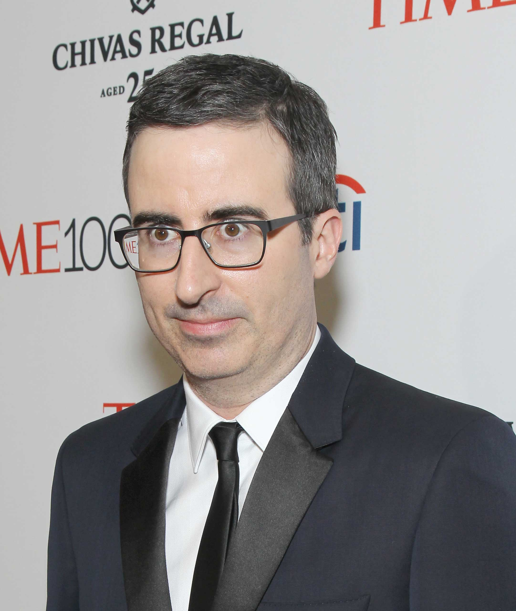 John Oliver attends the TIME 100 Gala at Jazz at Lincoln Center in New York City on Apr. 21, 2015.