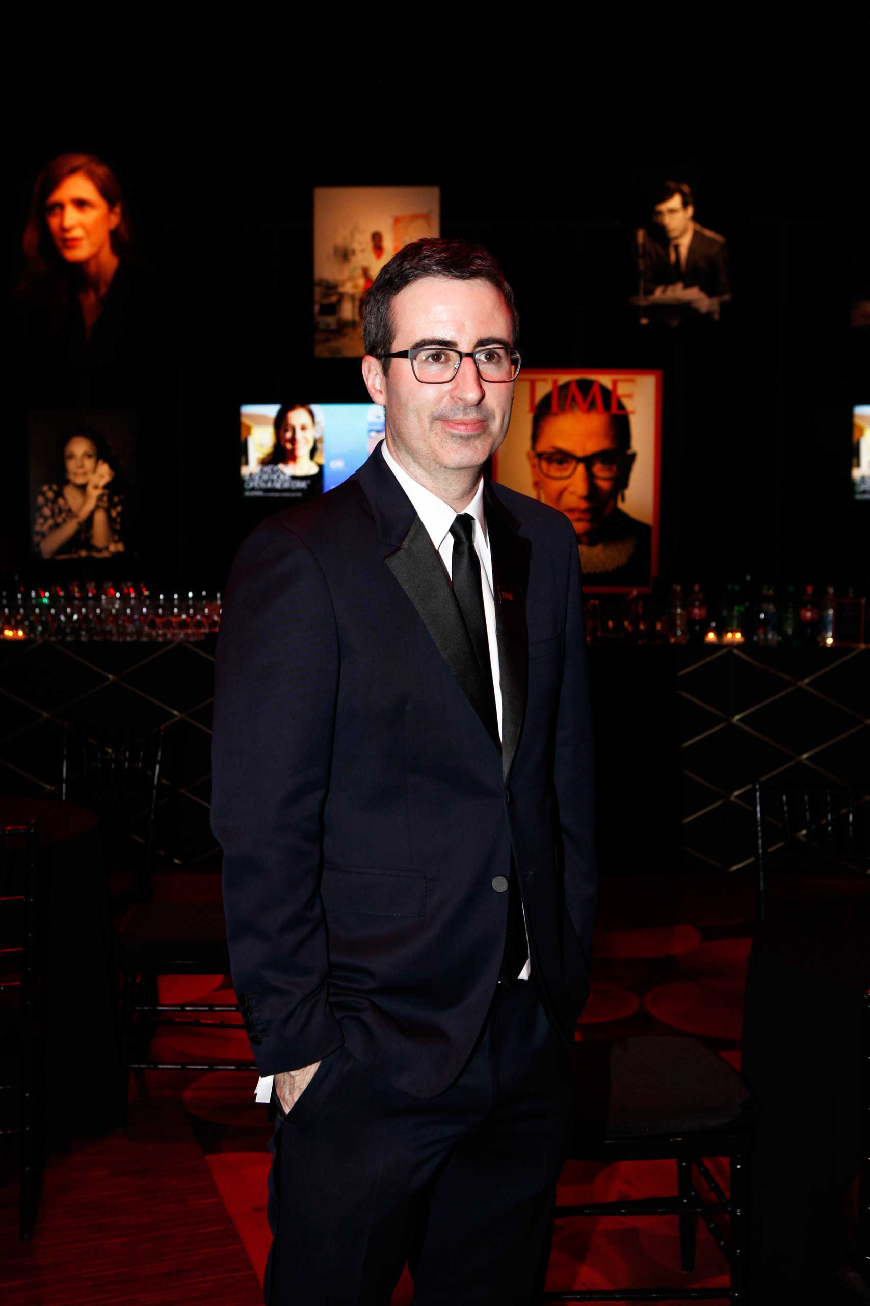 John Oliver attends the TIME 100 Gala at Jazz at Lincoln Center in New York City  April 21, 2015.