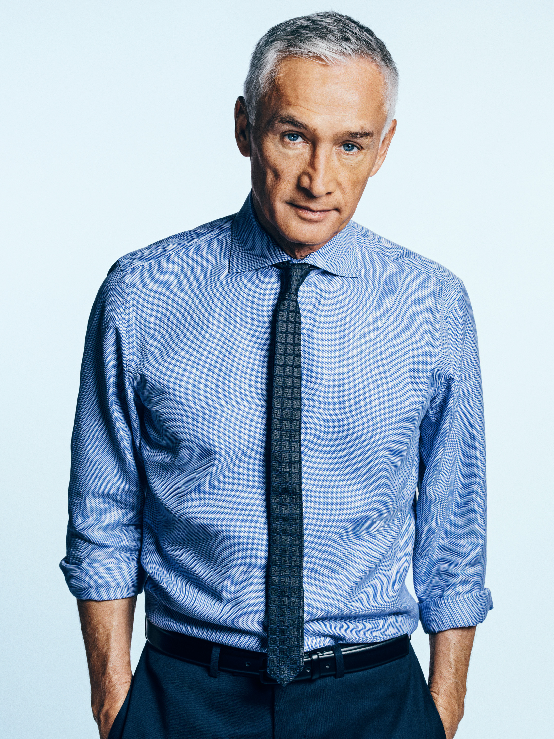 Portrait of Mexican- American journalist and author Jorge Ramos photographed on Thursday, March 19, 2015 in Doral, Florida.