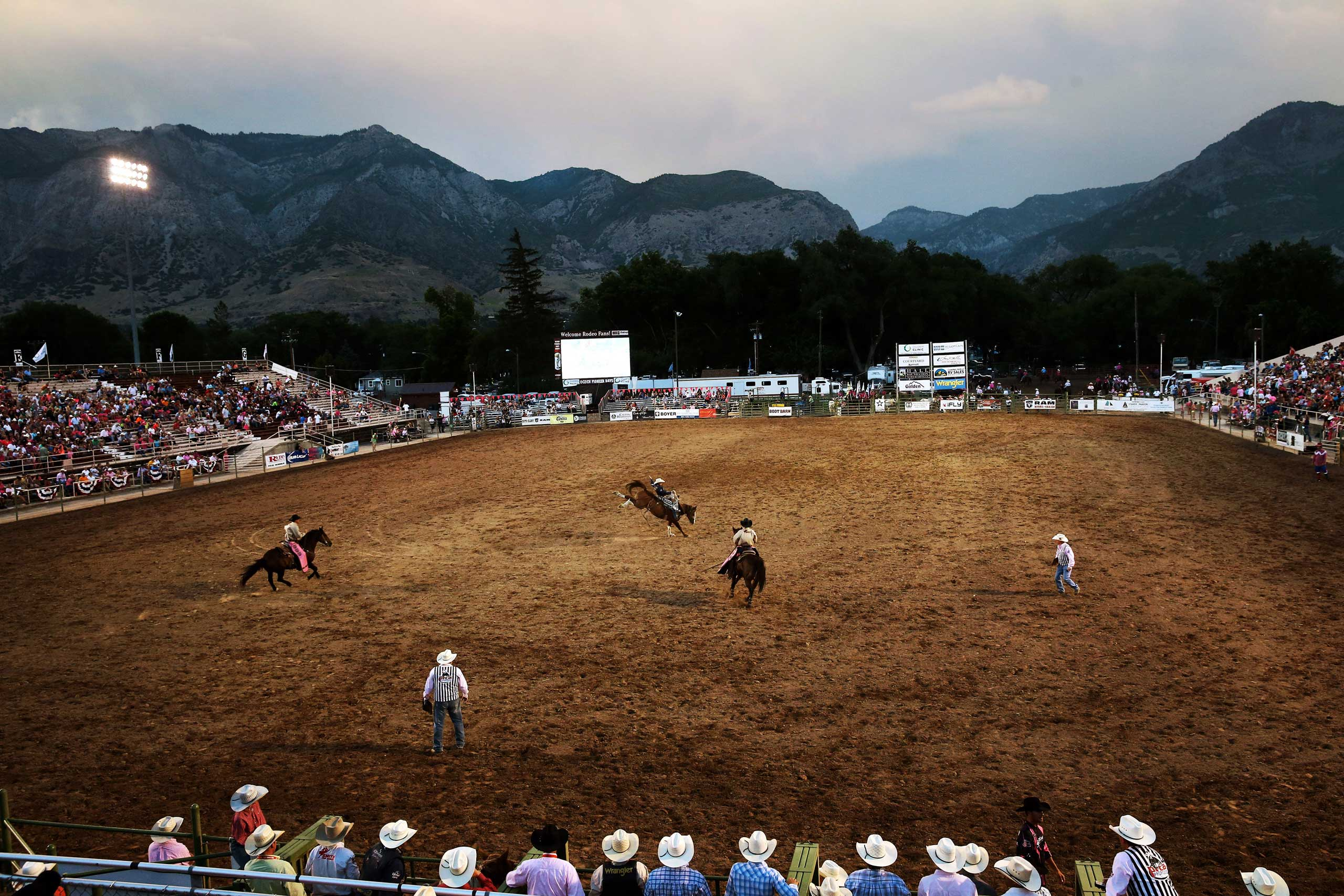 The New York Times: The Ride of Their LivesA rodeo event in which members of the Wright family competed in at Ogden Pioneer Days in Ogden, Utah, July 22, 2014.