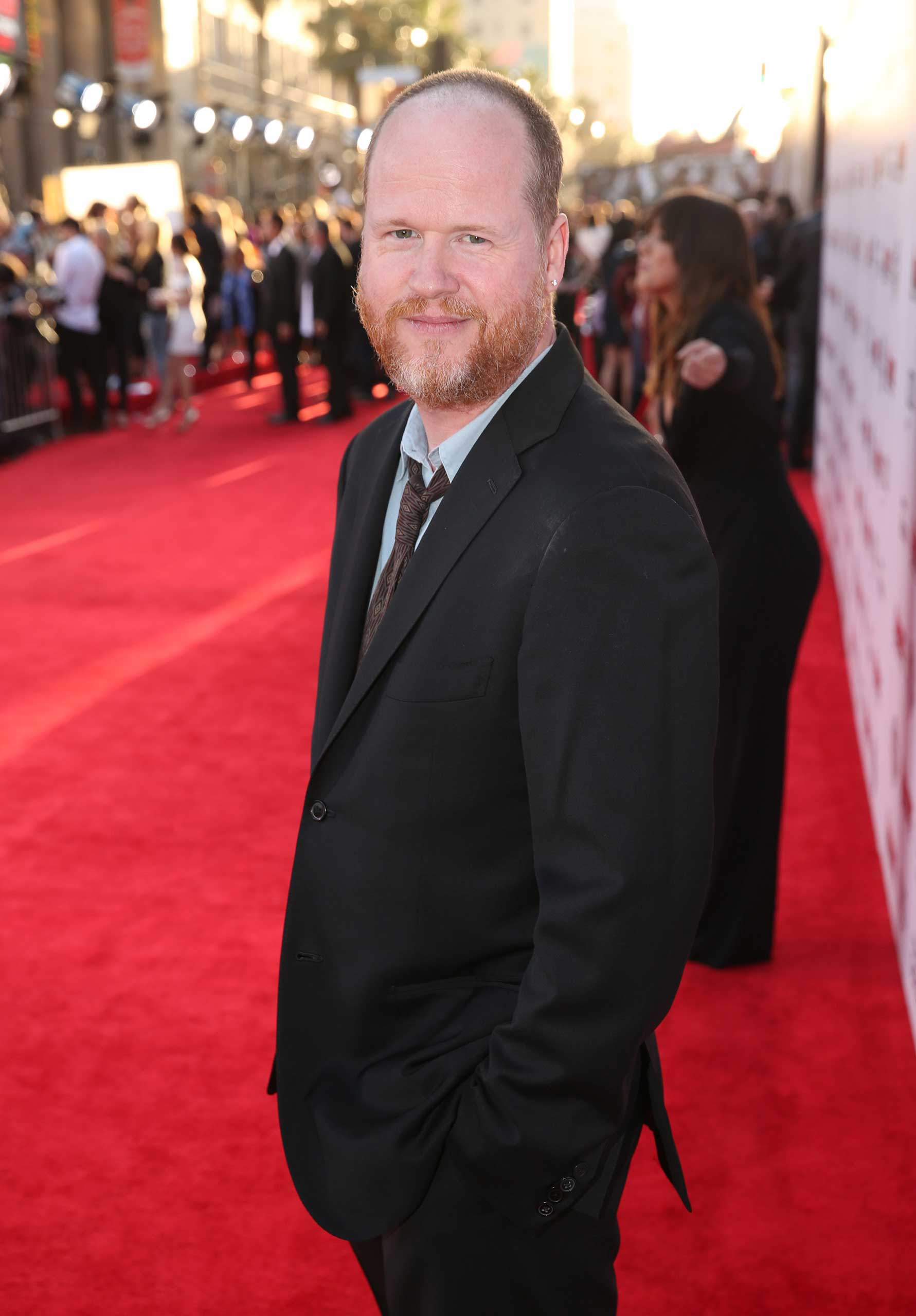 Joss Whedon arrives at the Los Angeles premiere of  Avengers: Age Of Ultron  at the Dolby Theatre on April 13, 2015.