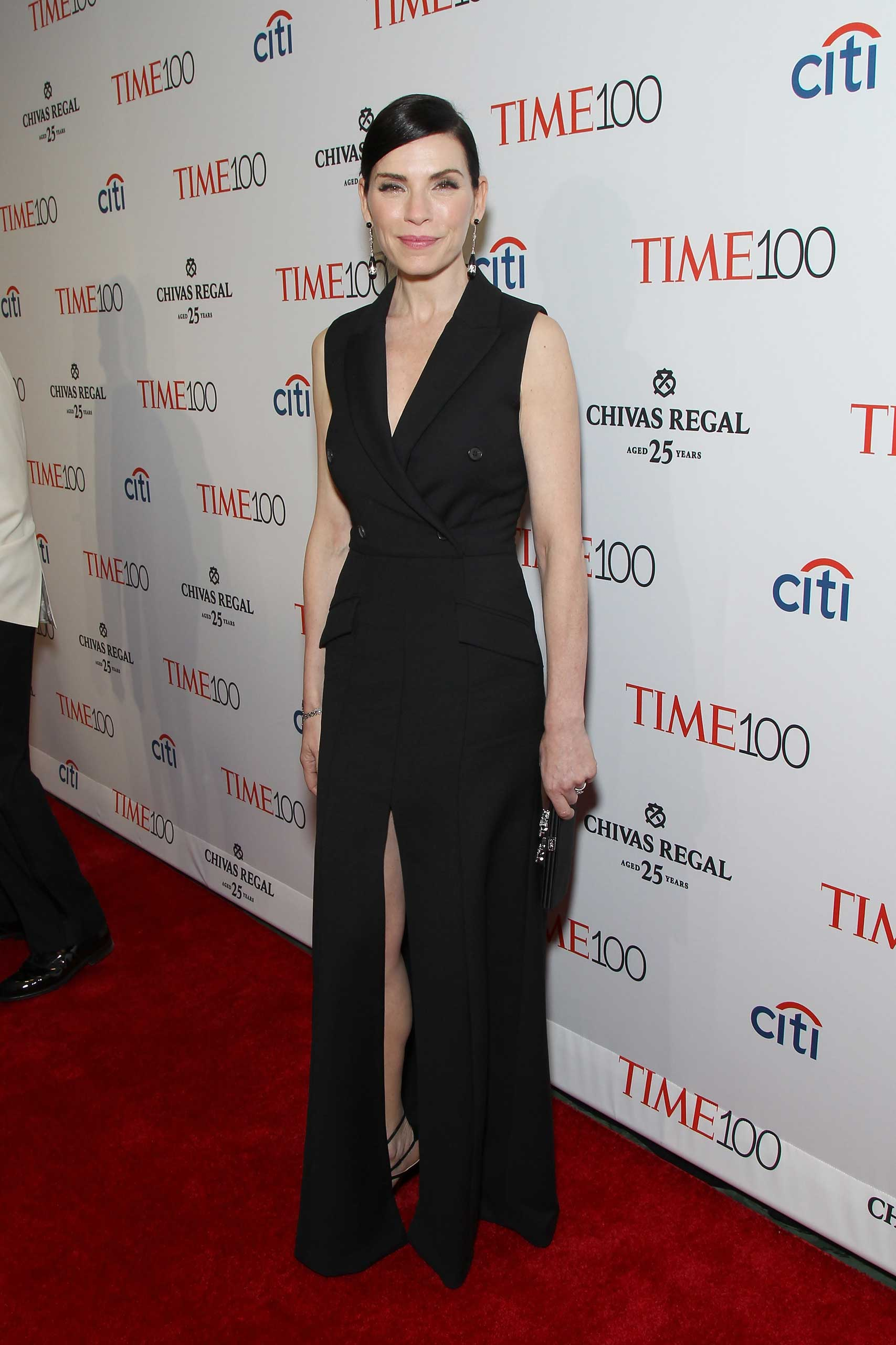Julianna Margulies attends the TIME 100 Gala at Jazz at Lincoln Center in New York City on Apr. 21, 2015.