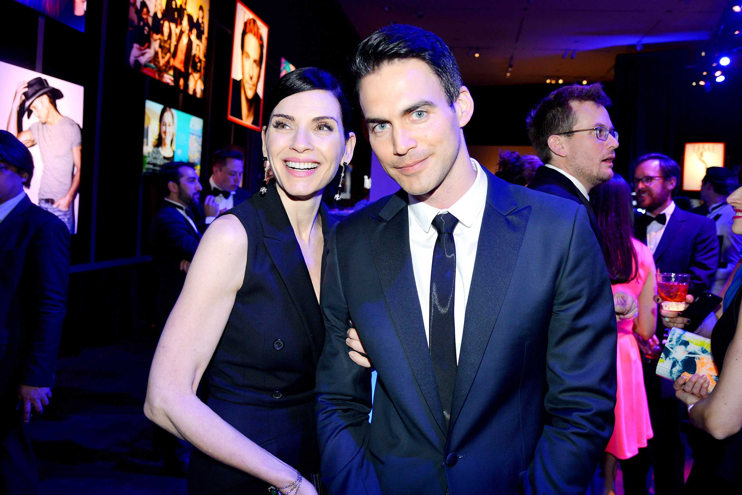 Julianna Margulies and Keith Lieberthal attend the TIME 100 Gala at Jazz at Lincoln Center in New York City on April 21, 2015.