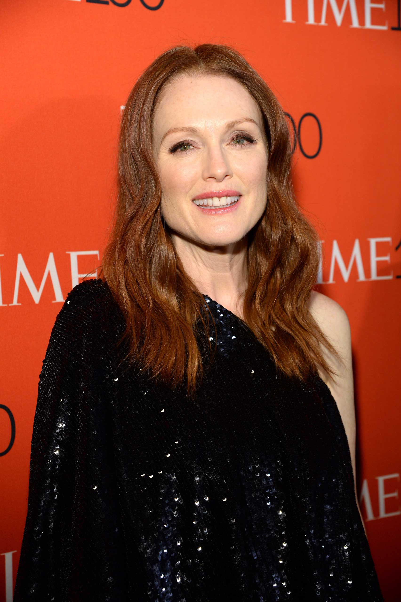 Julianne Moore attends the TIME 100 Gala at Jazz at Lincoln Center in New York City on Apr. 21, 2015.