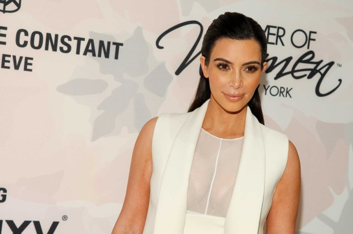 Kim Kardashian attends Variety's Power of Women Luncheon at Cipriani Midtown in New York on Apr. 24, 2015, .