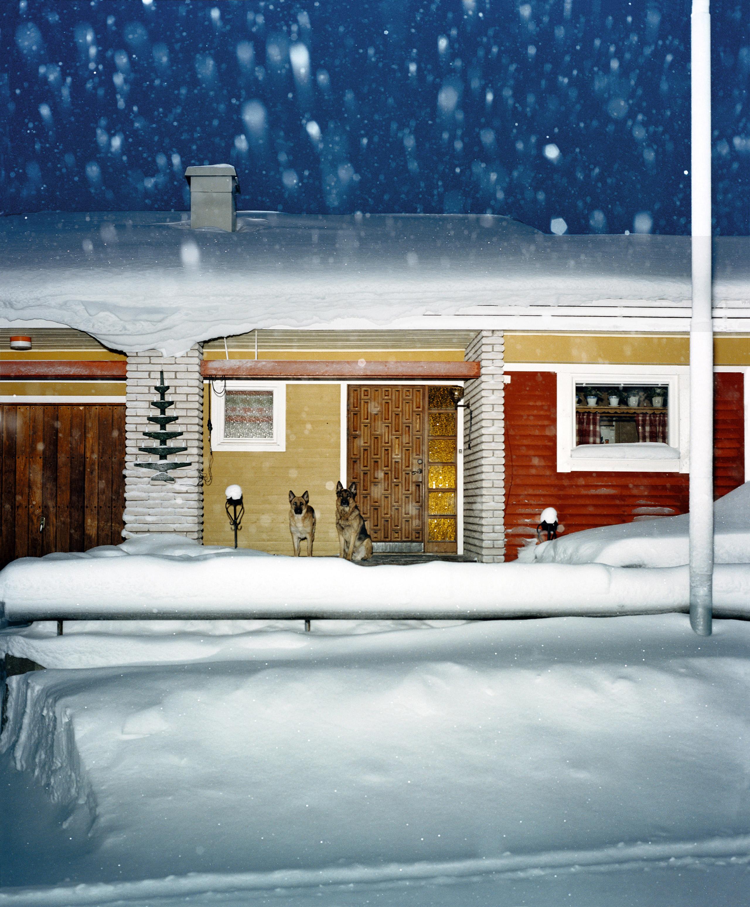 Sweden, Kiruna, 2004. From the series  Vinter .