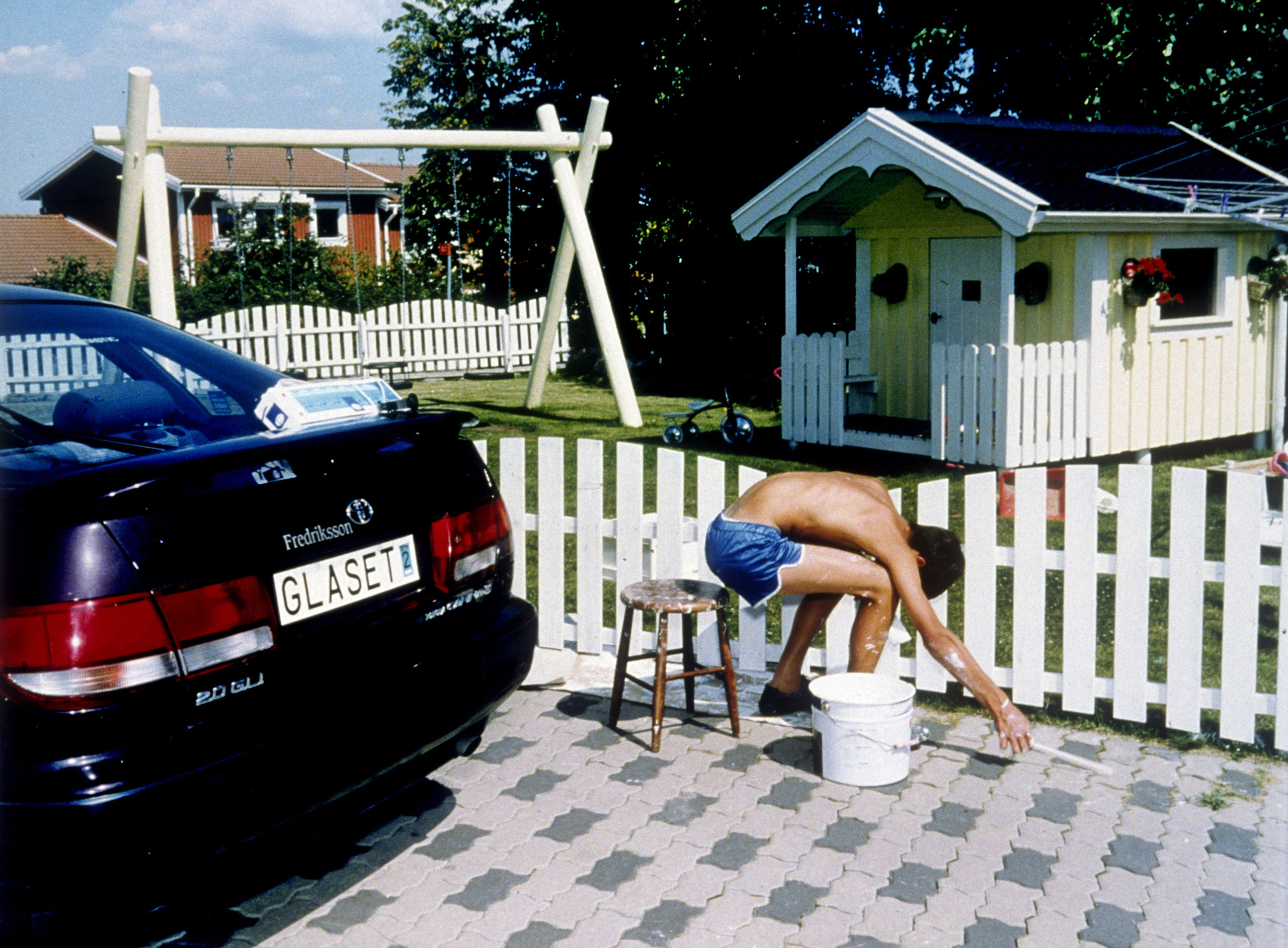 Sweden, 2001. From the series  Home .
