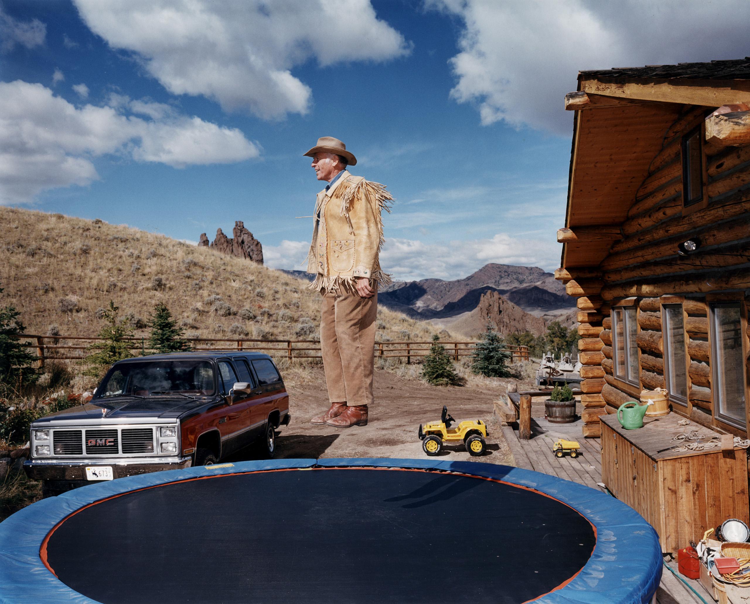 USA, 1995. Big boys will be cowboys.