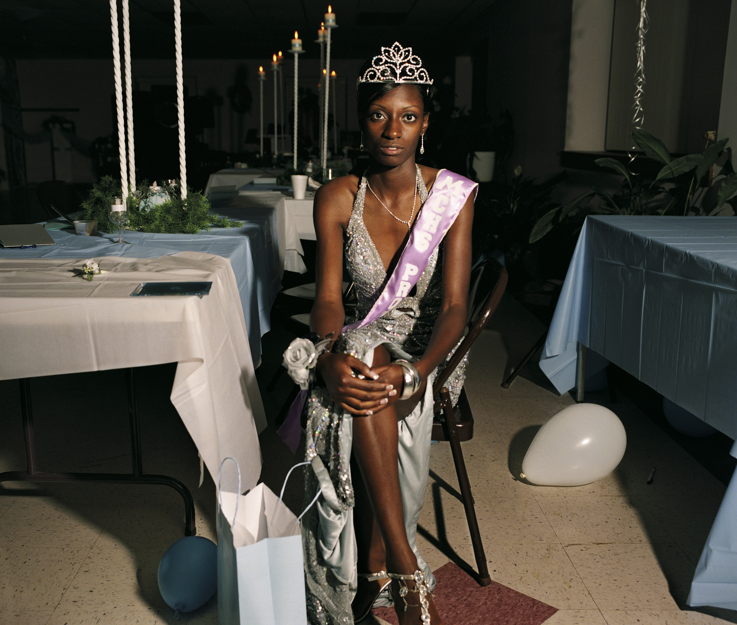Lacey, the prom queen, 2008