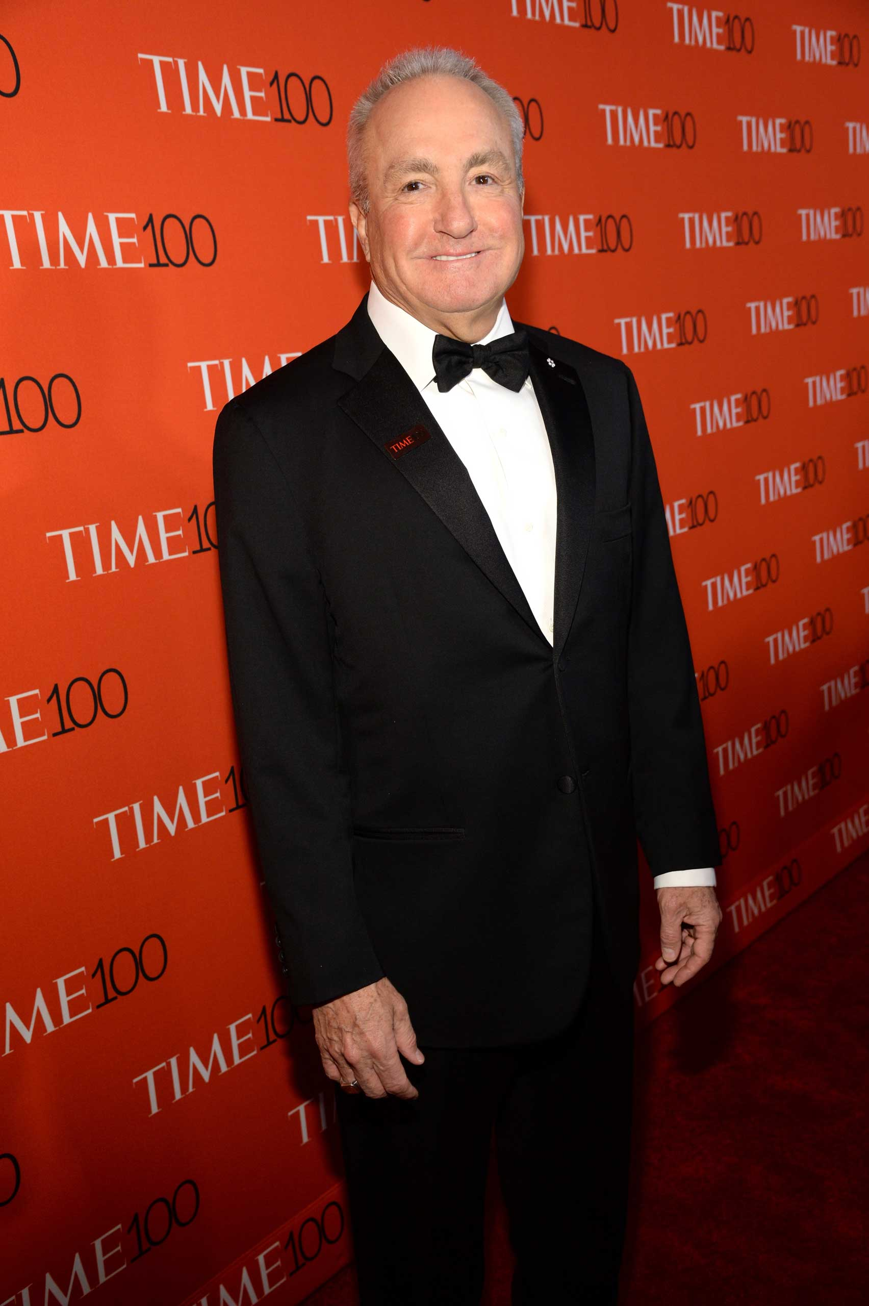 Lorne Michaels attends the TIME 100 Gala at Jazz at Lincoln Center in New York, NY on Apr. 21, 2015.