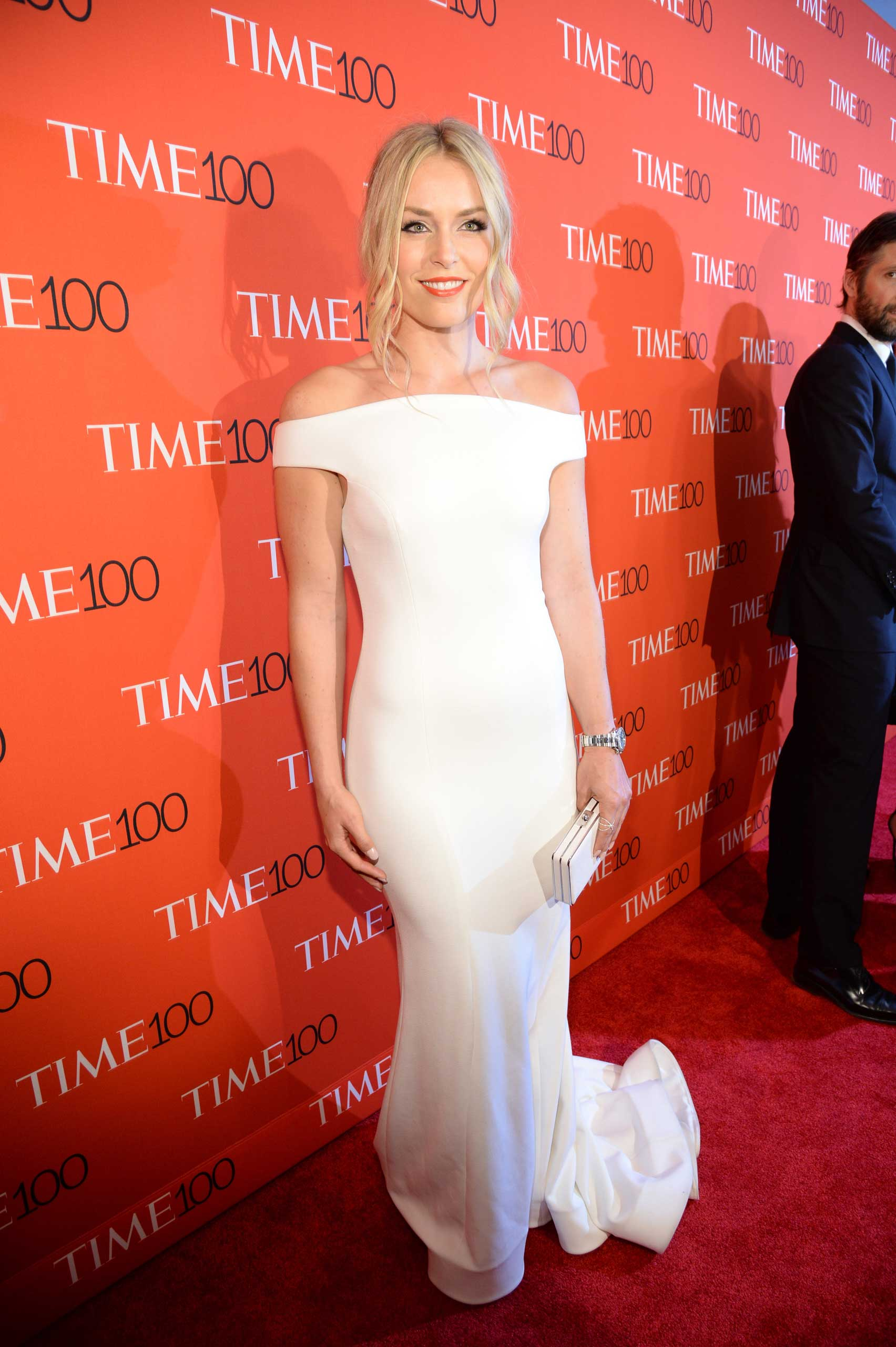 Lindsey Vonn attends the TIME 100 Gala at Jazz at Lincoln Center in New York, NY on Apr. 21, 2015.