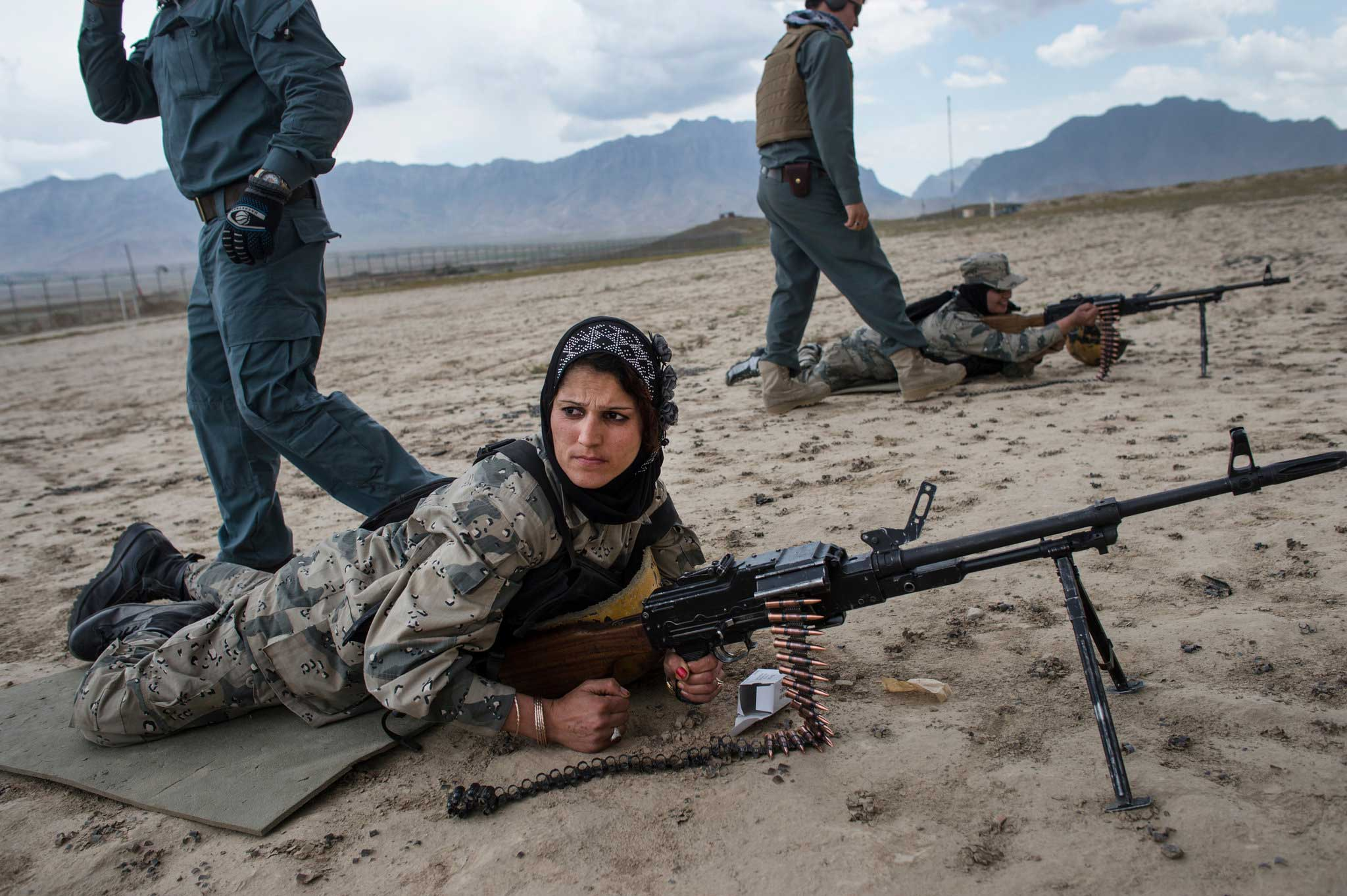The New York Times: Afghan Policewomen Struggle Against CulturePolice training in Kabul.