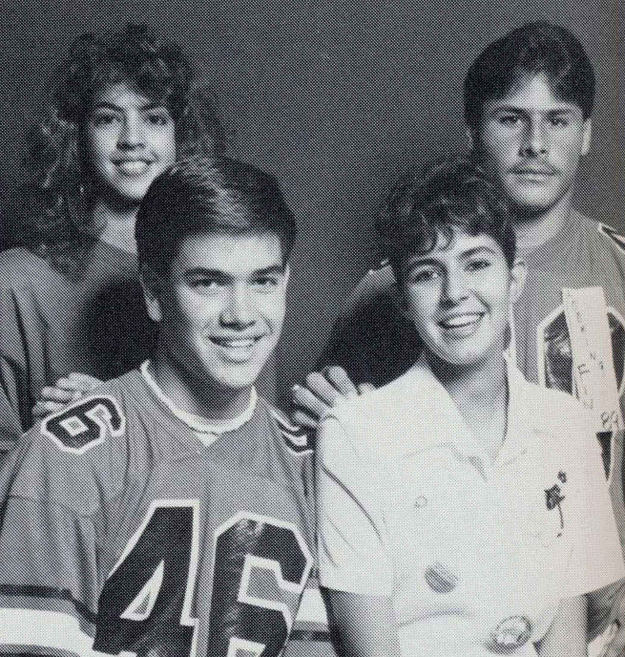 South Miami Senior High yearbook photo of Marco Rubio in 1989.