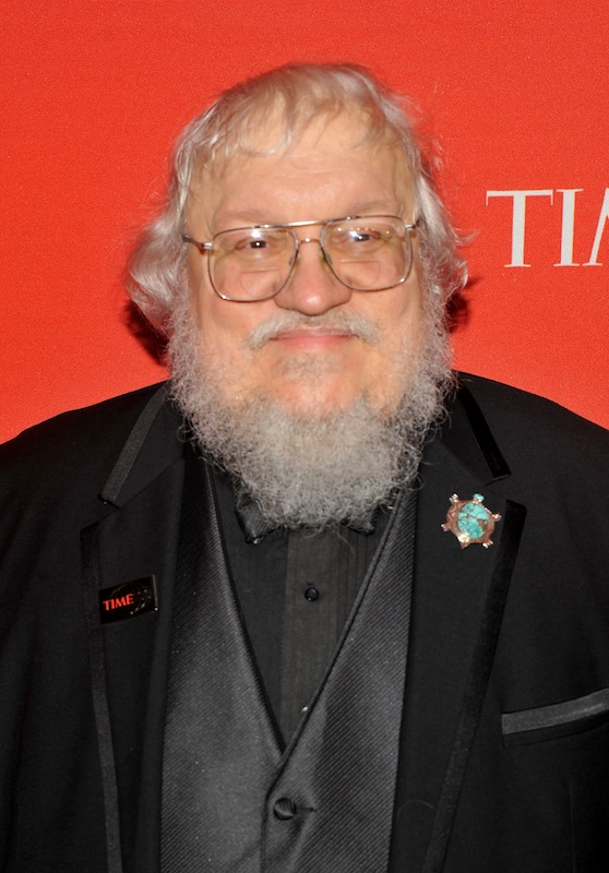 George R.R. Martin attends the TIME 100 Gala on April 26, 2011 in New York City.