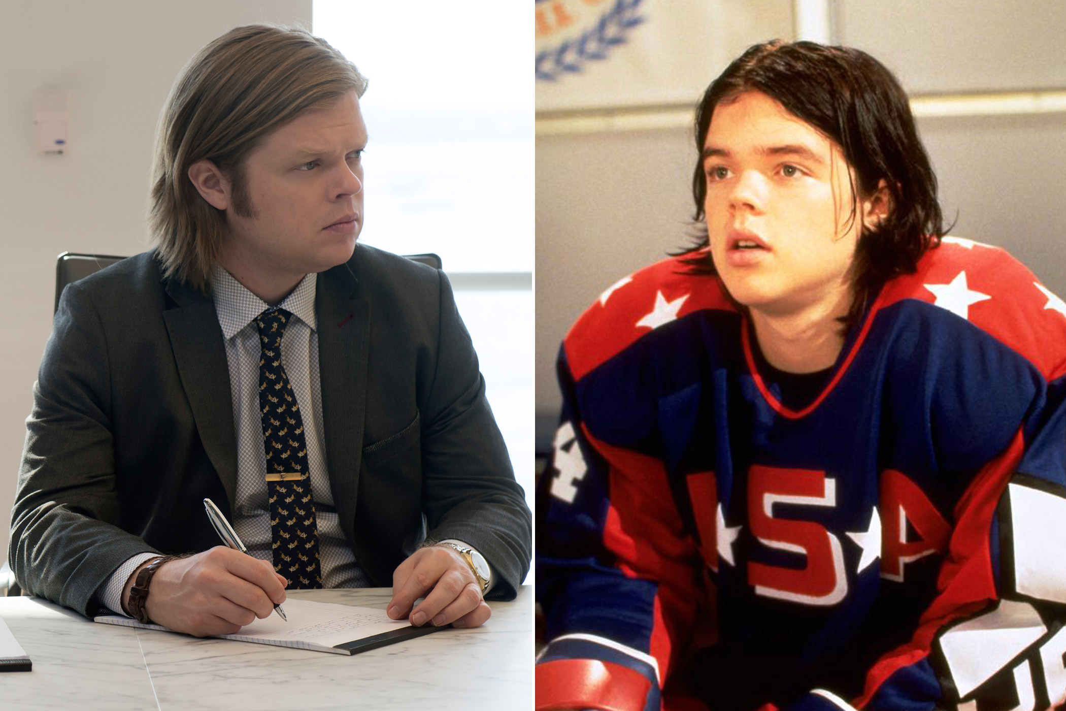Elden Henson as Foggy Bottom in <i>Daredevil</i> and Fulton Reed in the </i>Mighty Ducks</i> trilogy.
