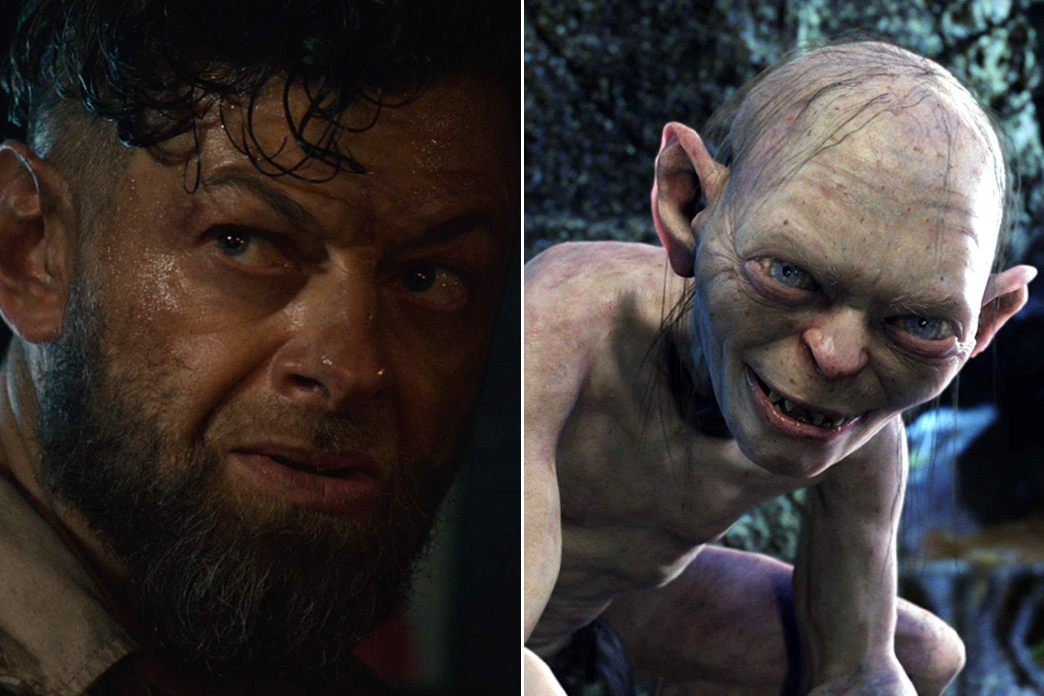 Bonus: Andy Serkis as Ulysses Klaue in <i>The Avengers: Age of Ultron</i> and Gollum in <i>The Lord of the Rings</i>