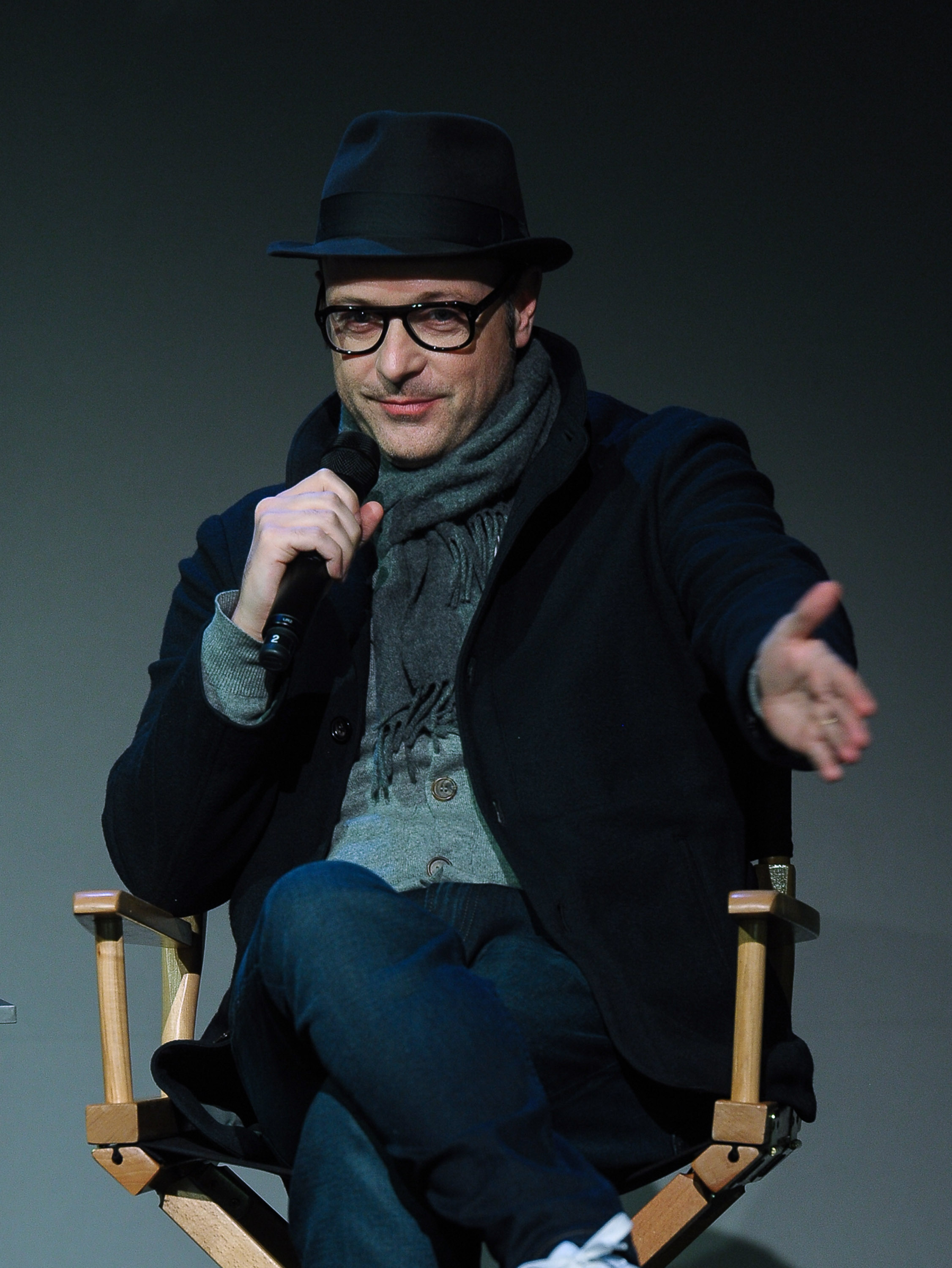 Filmmaker Matthew Vaughn at an Apple Store event on February 10, 2015 in New York City.