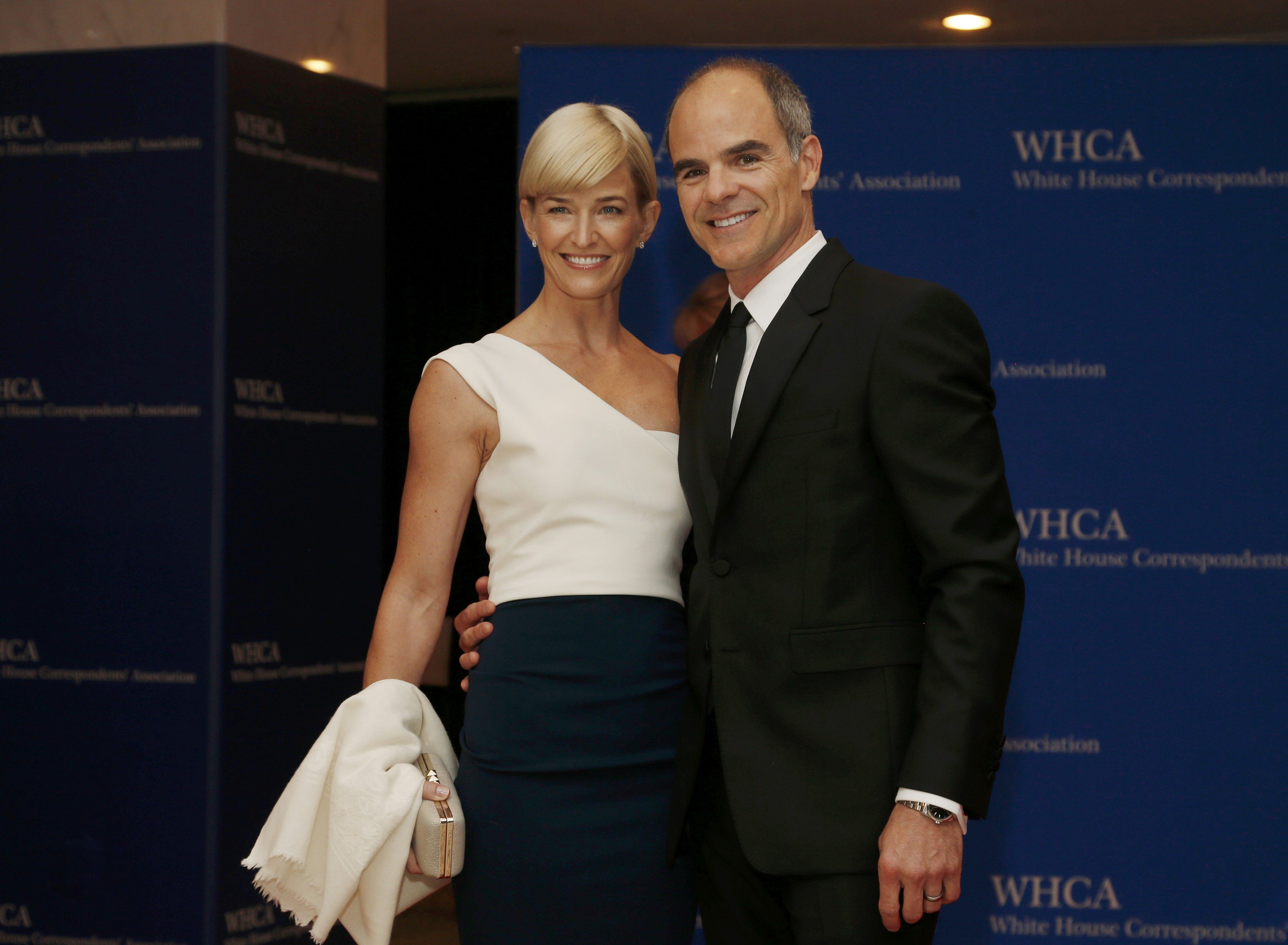 Actor Michael Kelly and wife, Karyn.