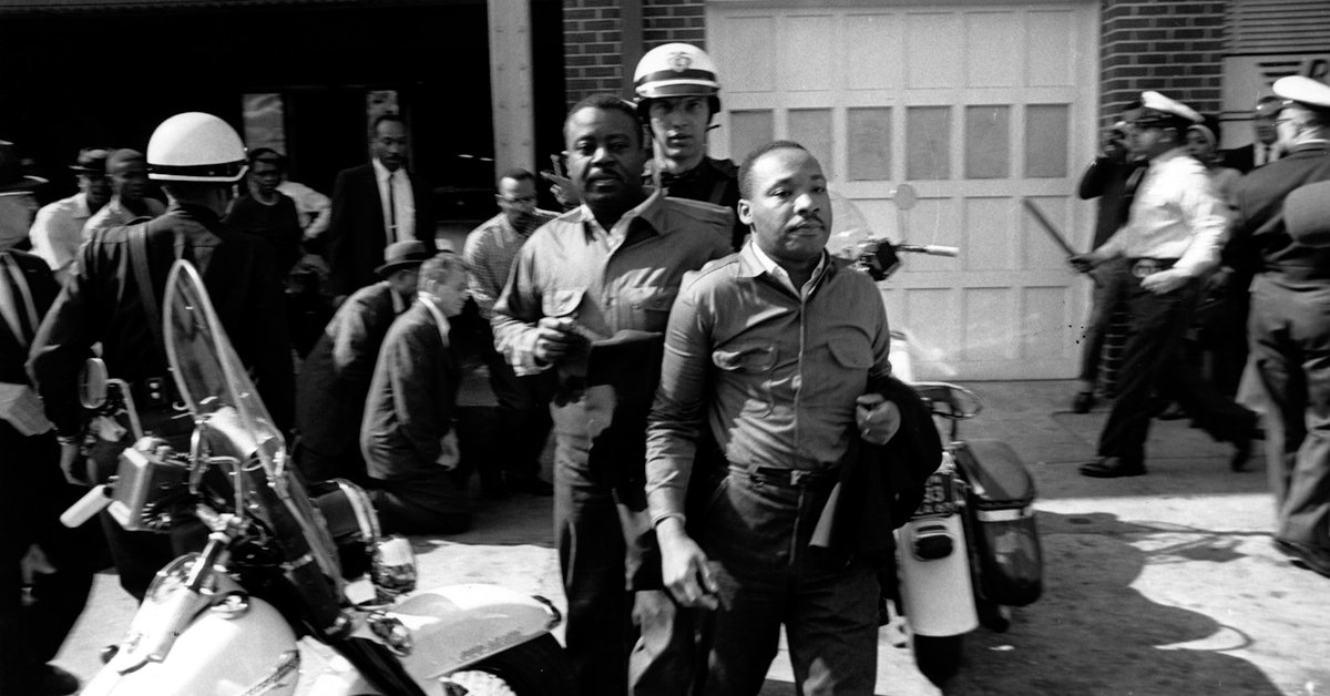 Martin Luther King Jr's Letter From a Birmingham Jail—Why He Was ...