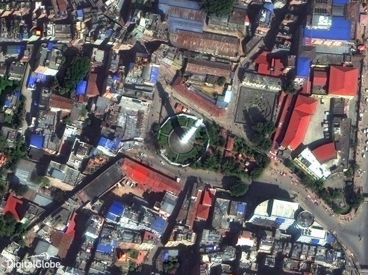 Dharahara Tower in Kathmandu on Oct. 25, 2014.