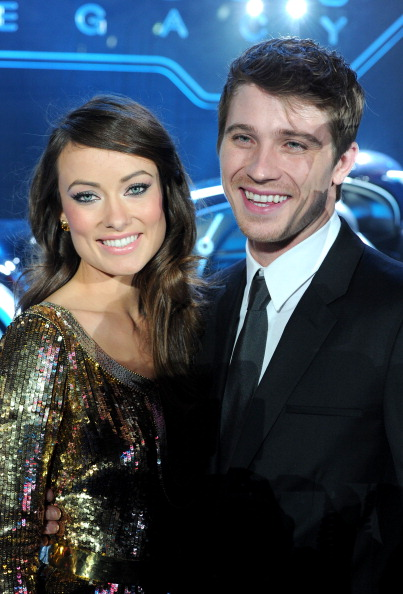 Olivia Wilde and Garrett Hedlund at the 'TRON: Legacy' World Premiere  on December 11, 2010 in Los Angeles.