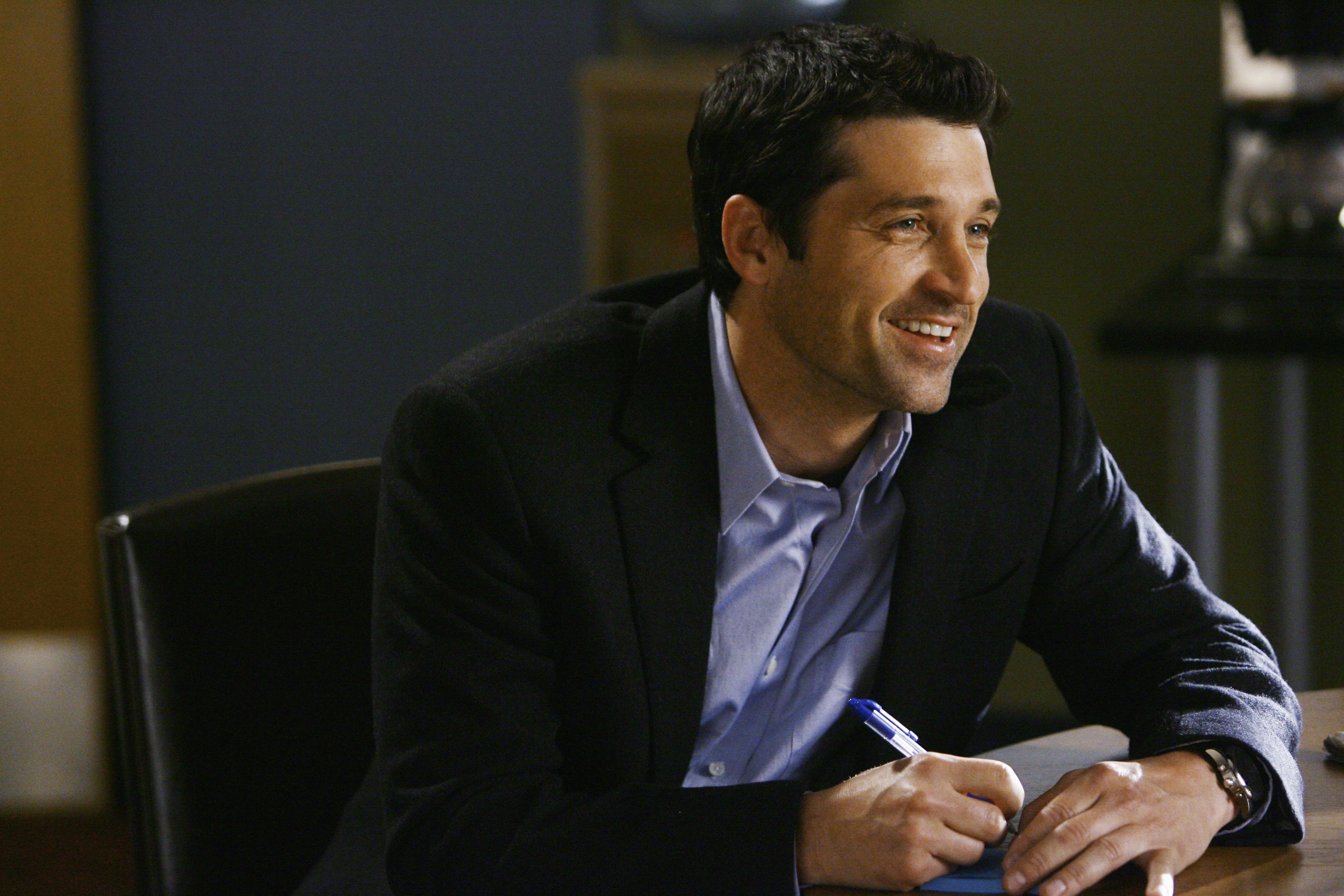 File Photo of Patrick Dempsey as he stars as  McDreamy  in Greys Anatomy.