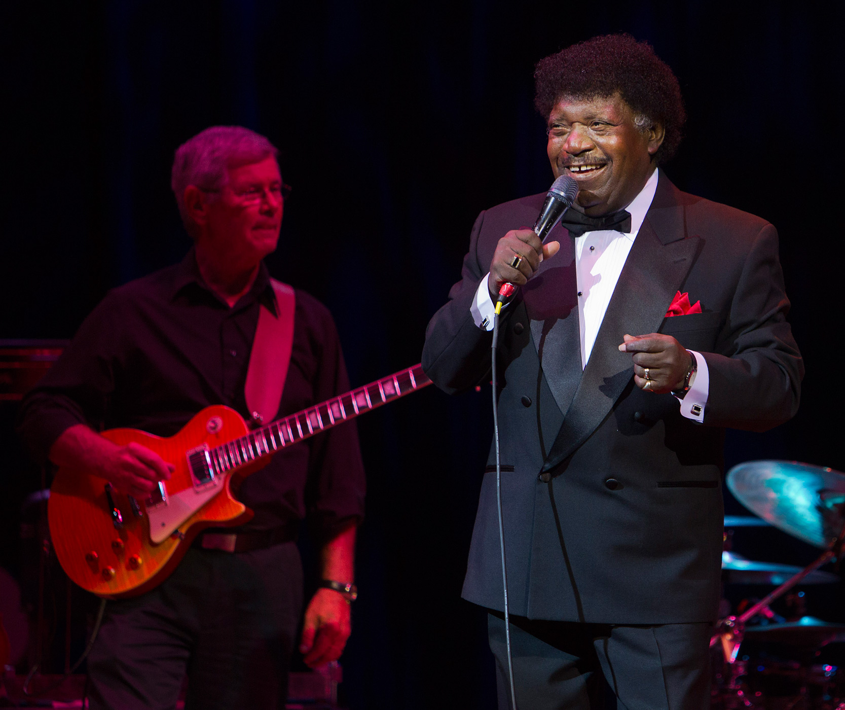 Percy Sledge performs during the 1st Annual Clay Walker Gala & Live Performance To Benefit MS at the House Of Blues on October 18, 2012 in Houston, TX.