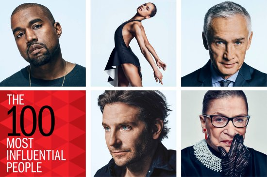 TIME 100 The Most Influential People photo grid