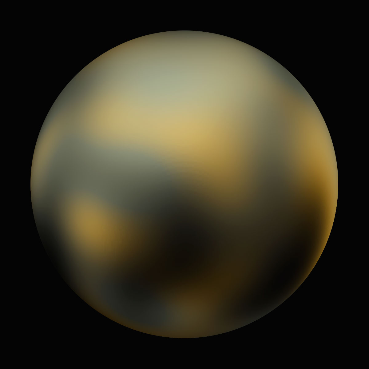 Pluto:                               This image is part of the most detailed set of images ever taken of the distant dwarf planet Pluto. The Hubble images were sharpest view of Pluto until NASA's New Horizons released a new image this year and were invaluable for picking out the planet's most interesting-looking hemisphere for New Horizons to swoop over when it flies by Pluto in 2015.                                                              Though Pluto is arguably one of the public's favorite planetary objects, it is also the hardest of which to get a detailed portrait because the world is small and very far away. Image released on Feb. 4, 2010.