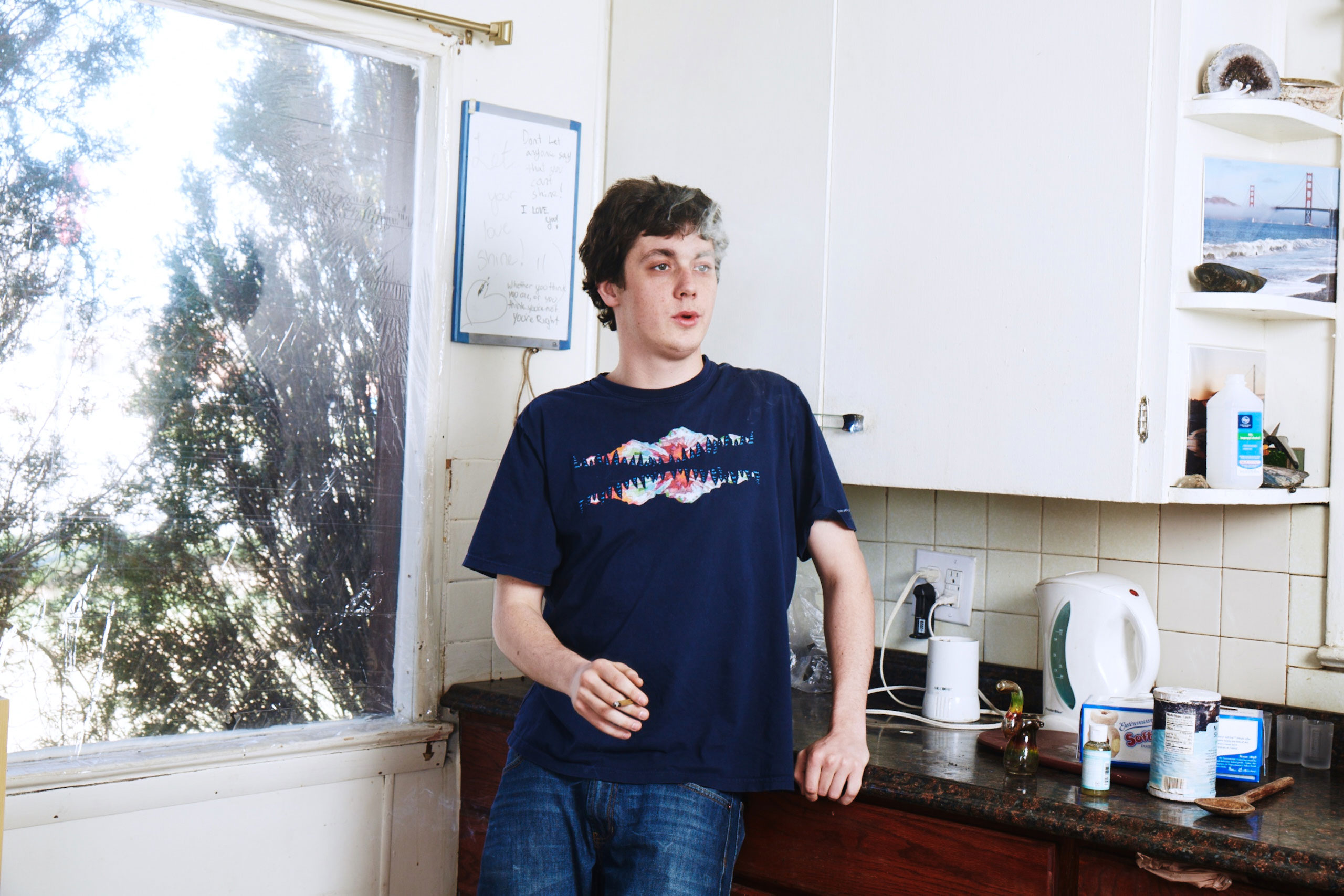 "<b>Evan Johnson, 25.</b>                                   ""When marijuana is abused it can definitely affect one's motivation, but I've never really had that issue."""