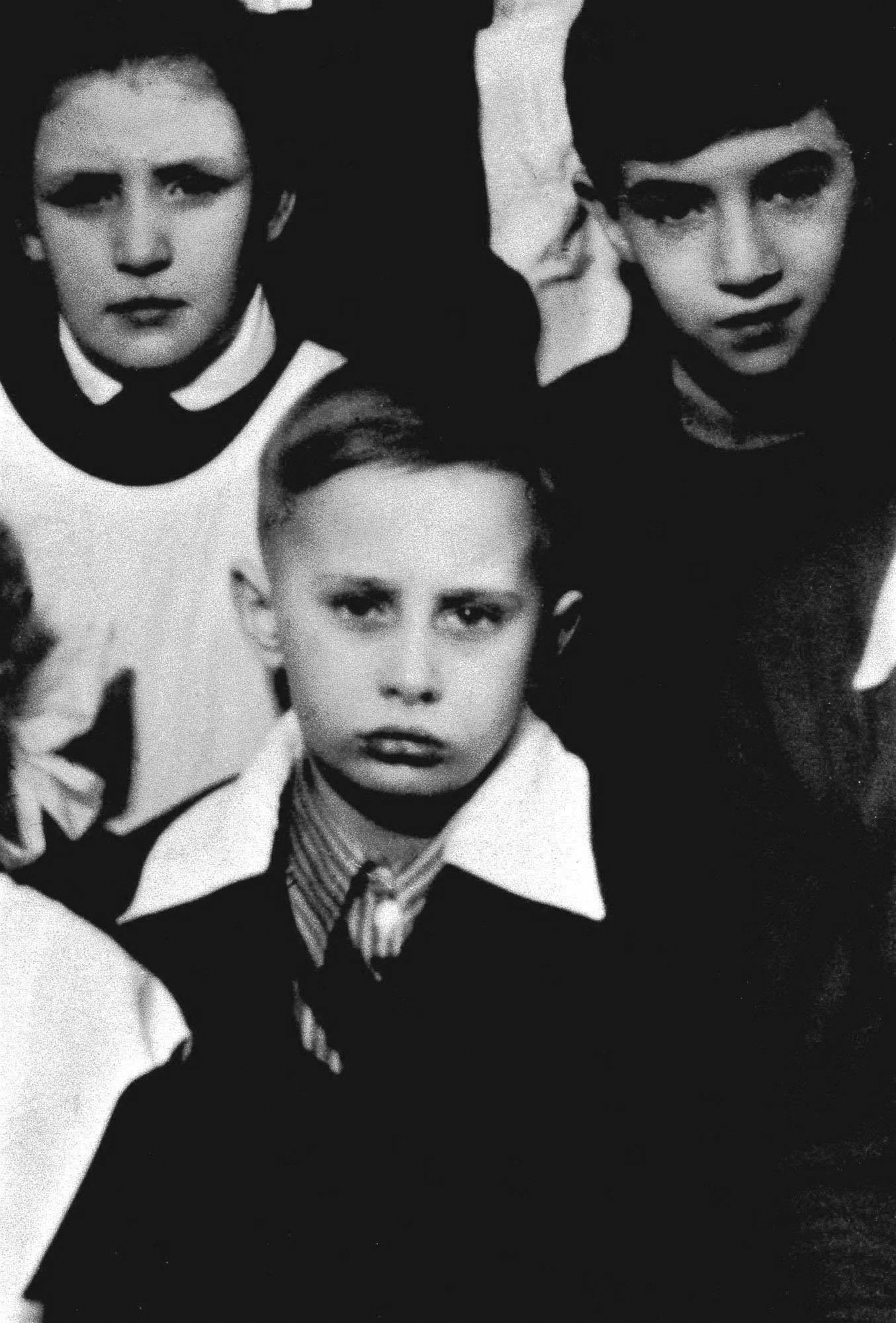 A class photo of Vladimir Putin in St. Petersburg, then called Leningrad, circa 1960.