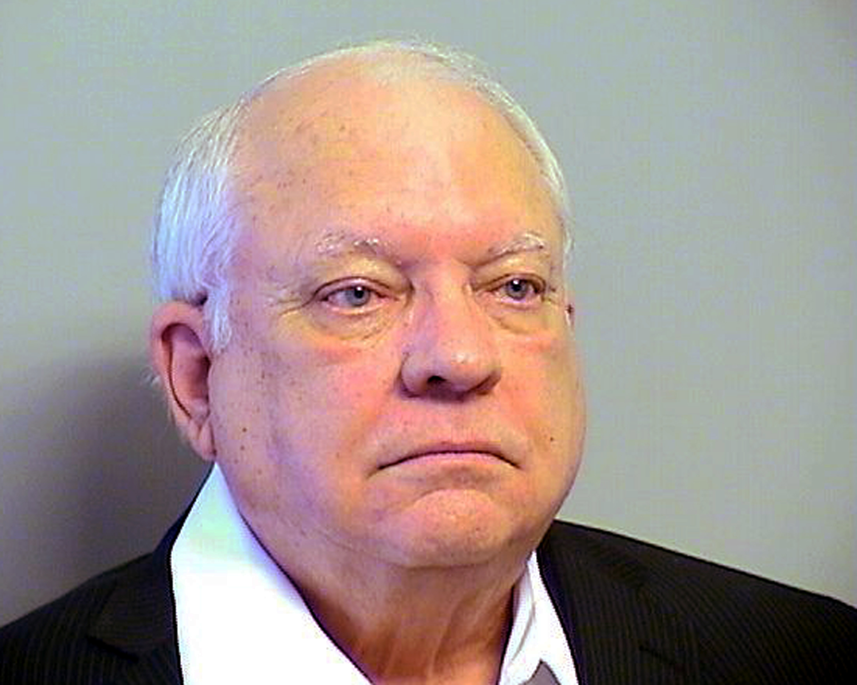 Robert Bates. The 73-year-old Oklahoma reserve sheriff's deputy, who authorities said fatally shot a suspect after confusing his stun gun and handgun, was booked into the county jail on a manslaughter charge in Tulsa, Okla. on April 14, 2015.