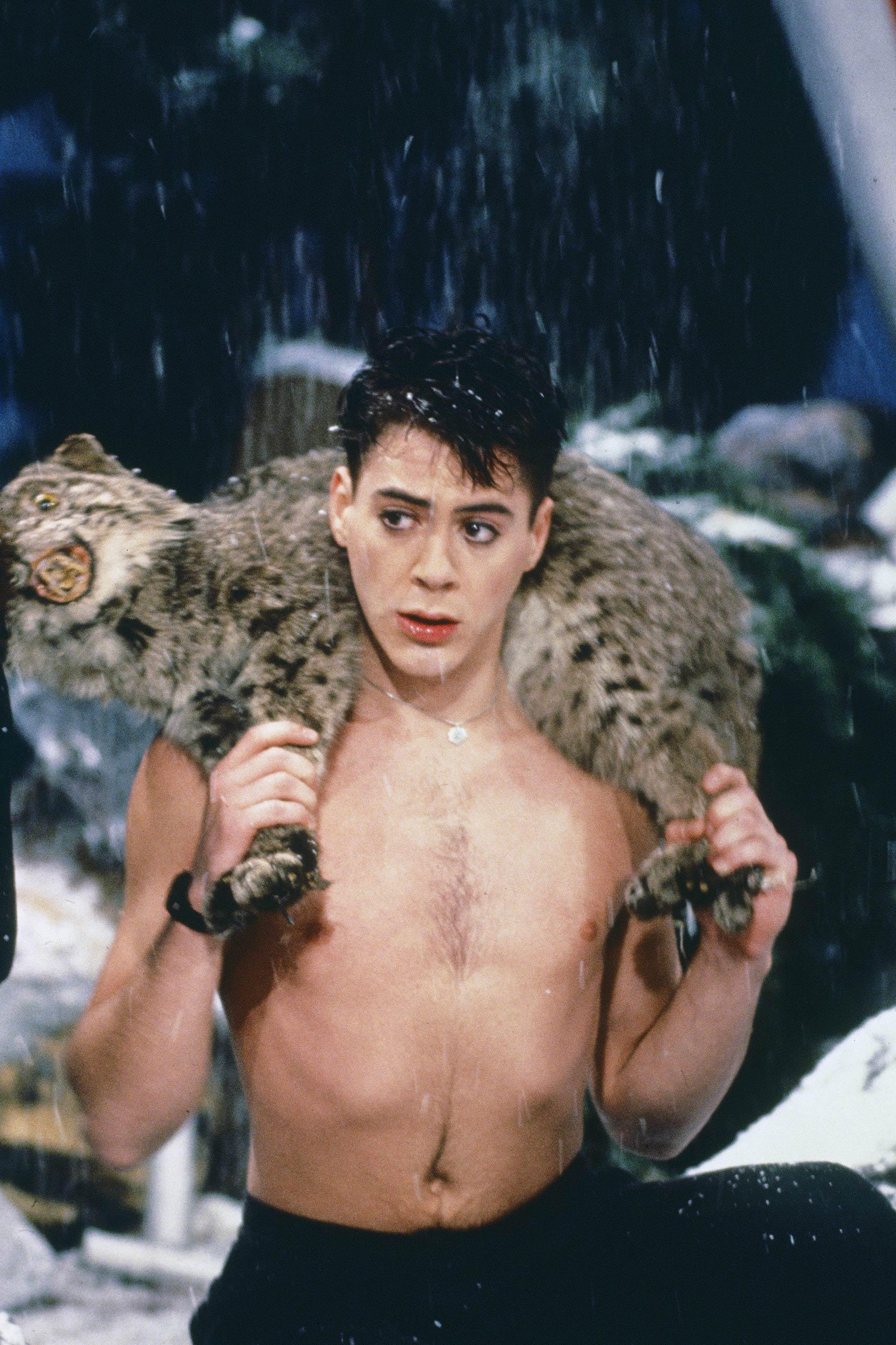 Robert Downey Jr. as Julian Lynch on <i>Saturday Night Live</i> in 1986.