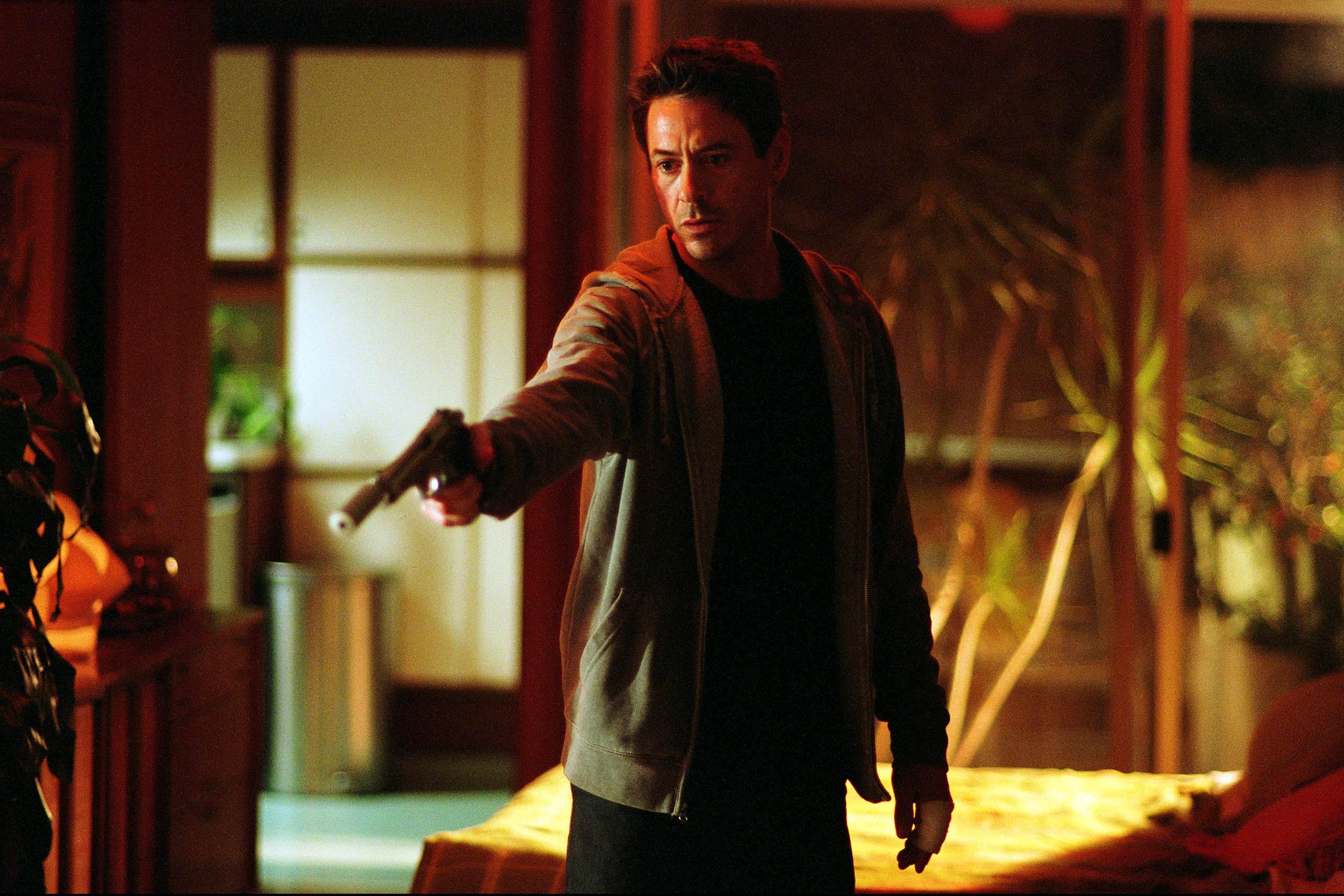 Robert Downey Jr. in <i>Kiss Kiss Bang Bang</i>, 2005.