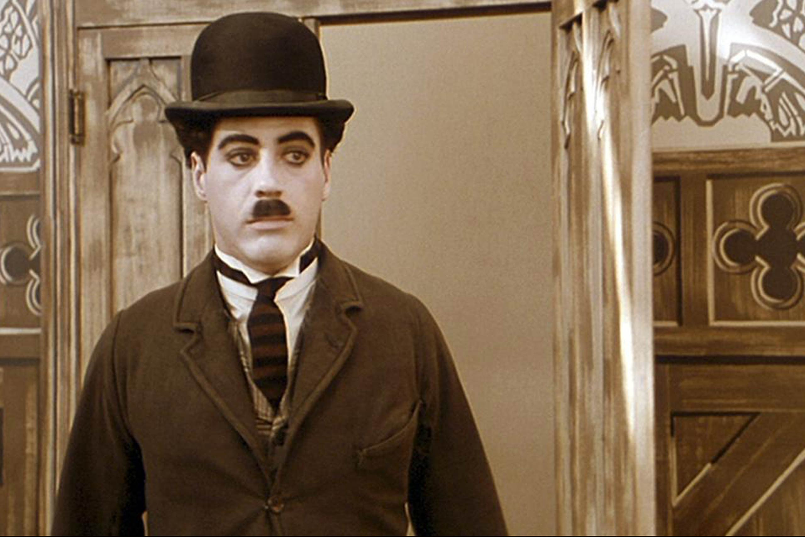 Robert Downey Jr. in <i>Chaplin</i>, 1992.