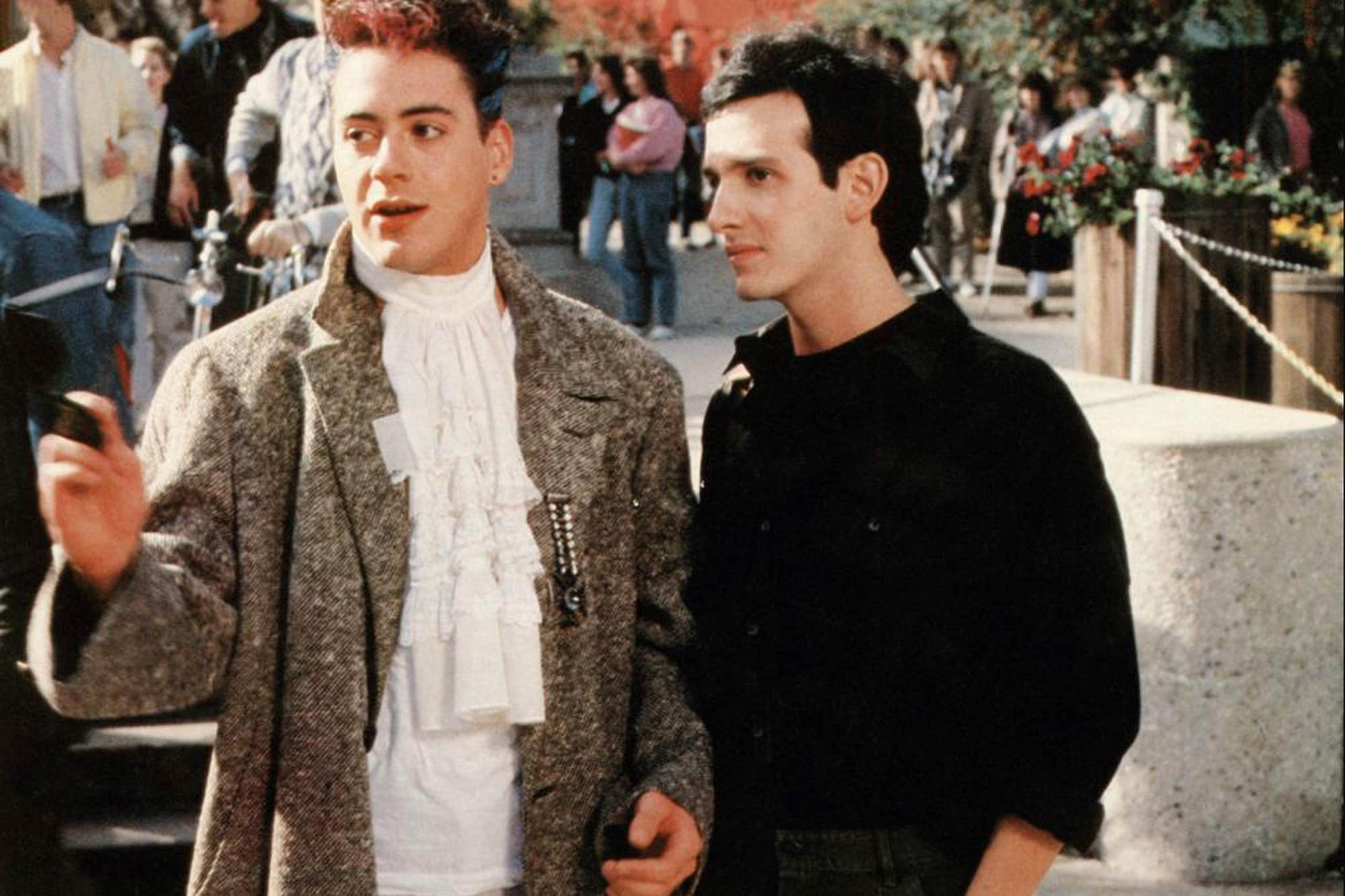 Robert Downey Jr. in <i>Back to School</i>, 1986.