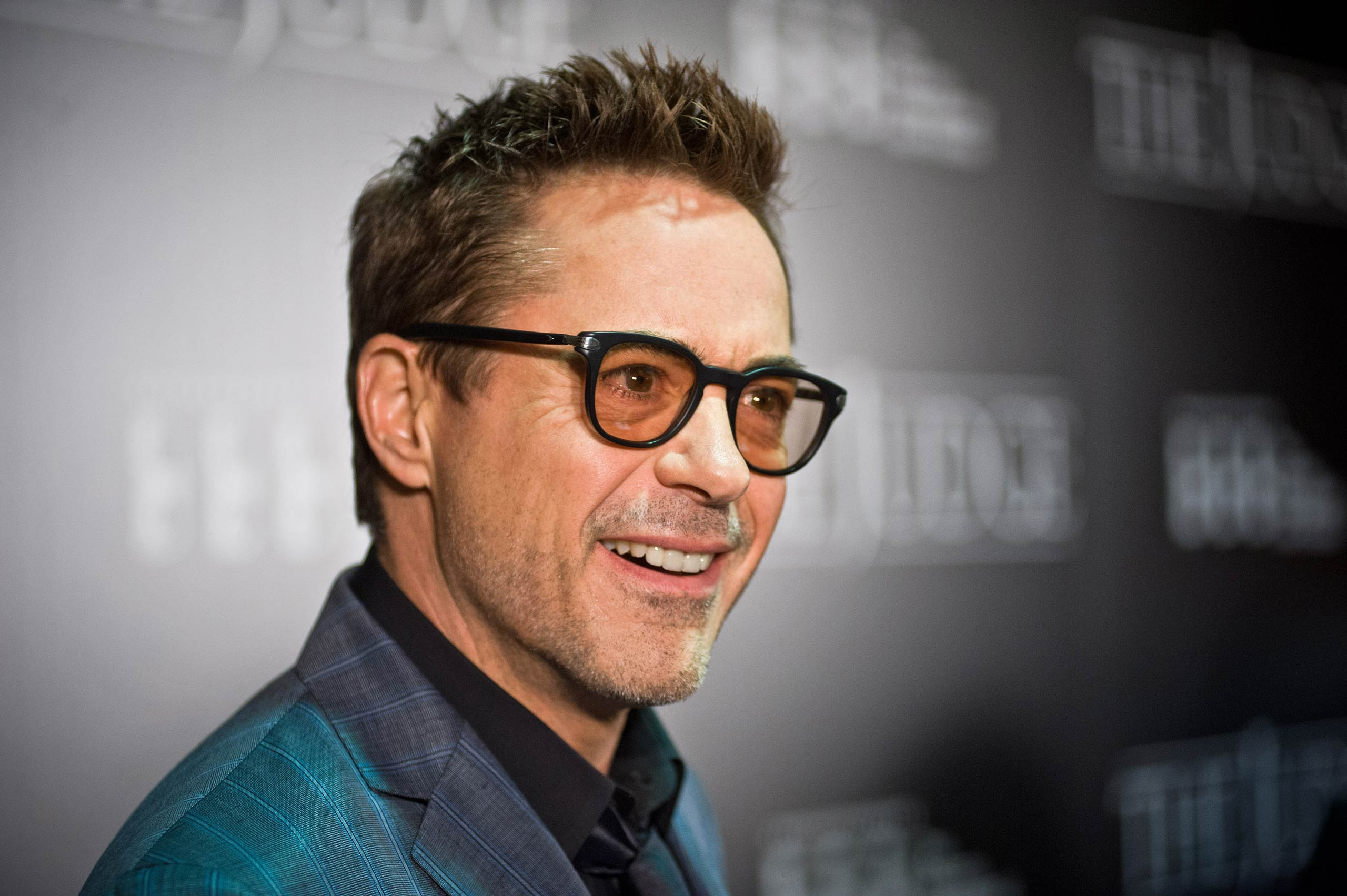 Robert Downey Jr. attends the Chicago premiere of <i>The Judge</i> at AMC River East Theater on Oct. 5, 2014 in Chicago, Ill.