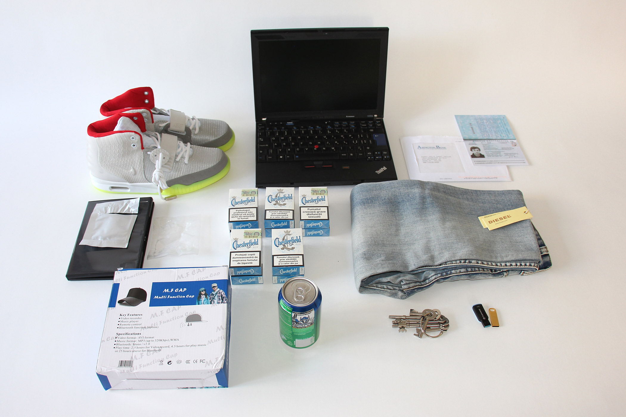 Items purchased on the darknet by the Random Darknet Shopper
