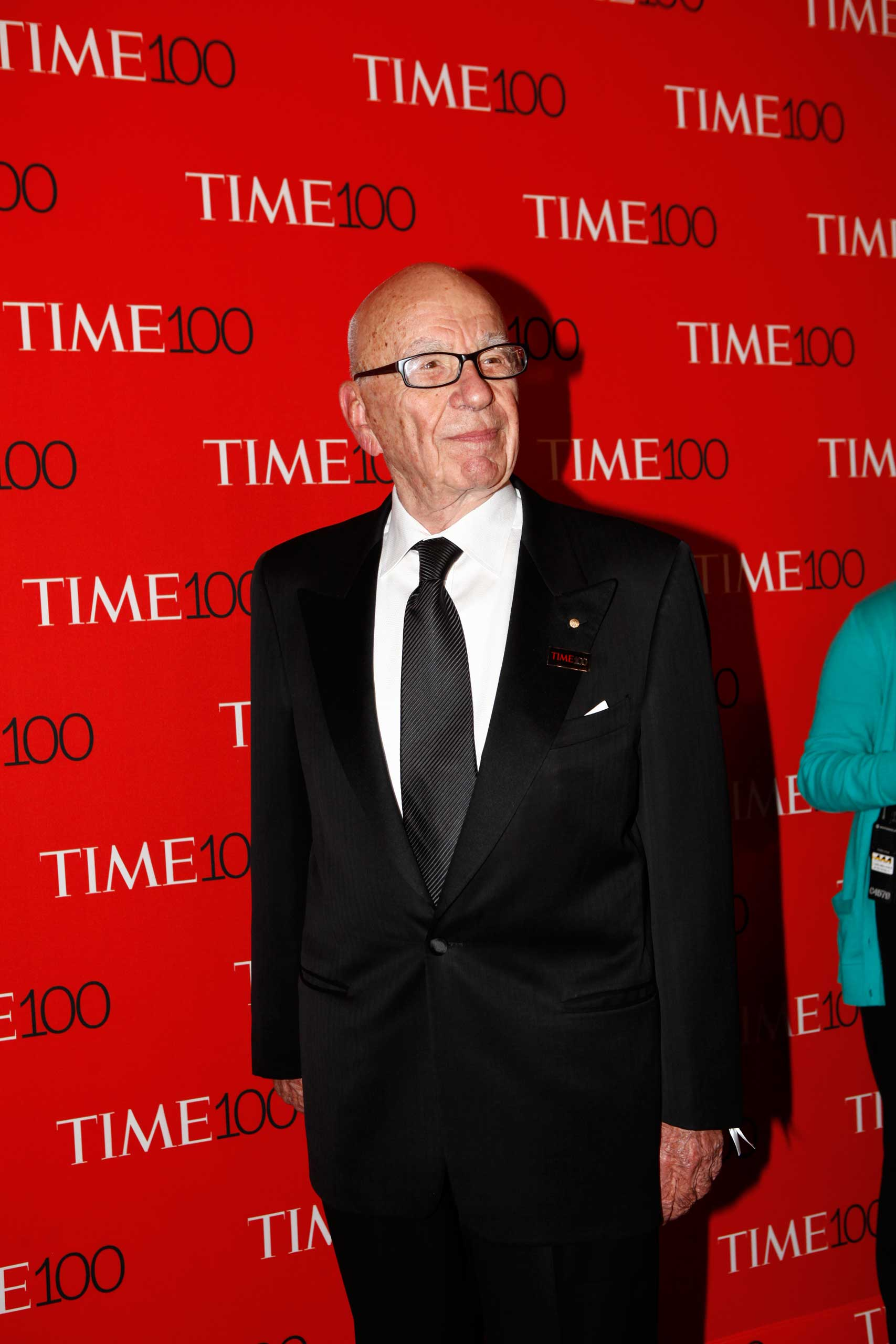 Rupert Murdoch attends the TIME 100 Gala at Jazz at Lincoln Center in New York City on Apr. 21, 2015.