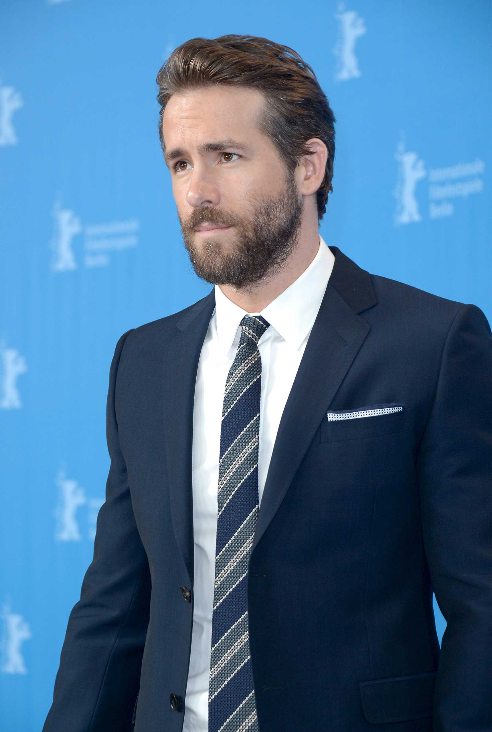 Ryan Reynolds attends the 'Woman in Gold' press conference during the 65th Berlinale International Film Festival at Grand Hyatt Hotel in Berlin on Feb. 9, 2015.