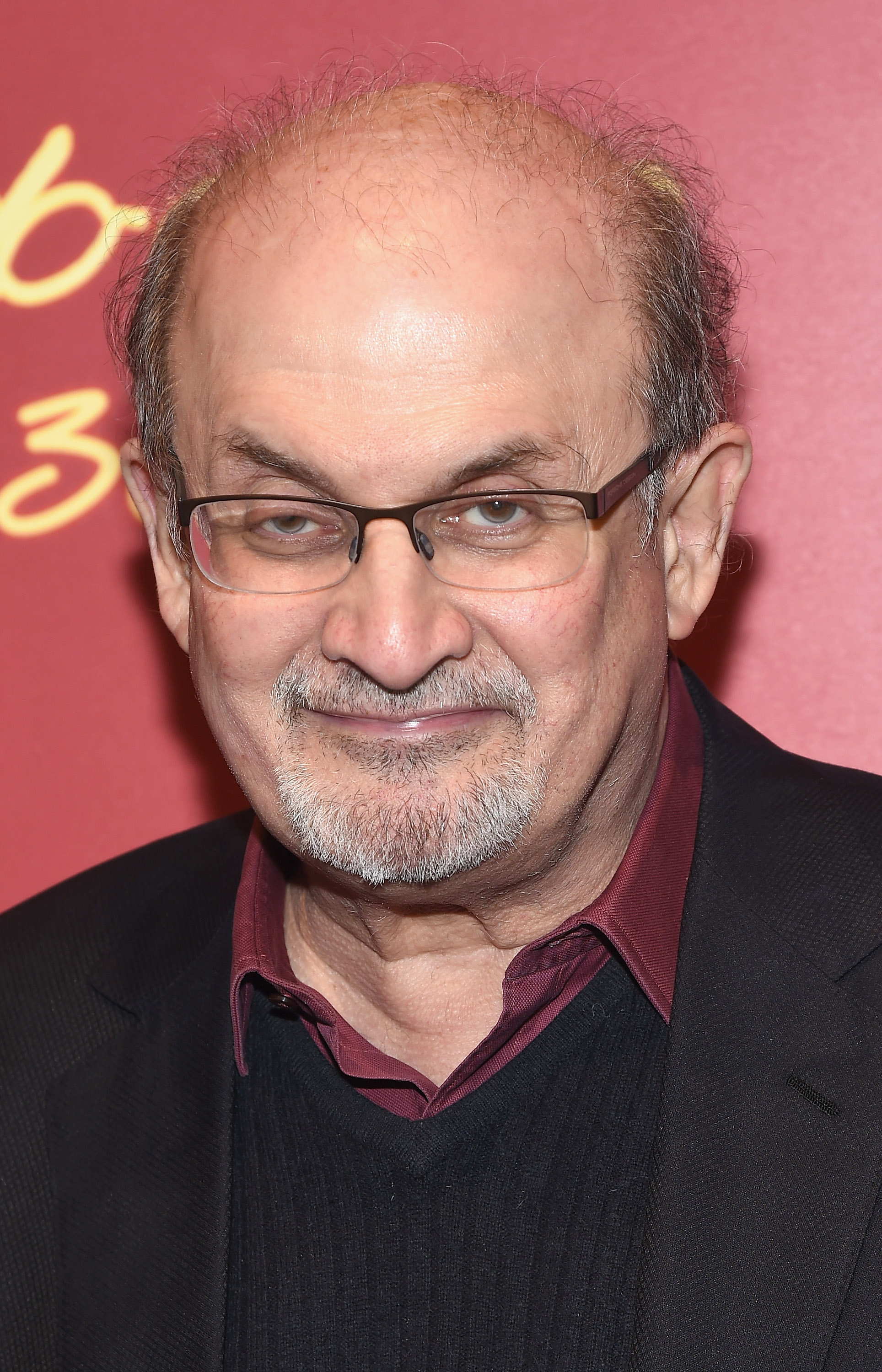Salman Rushdie attends Indochine's 30th Anniversary Party at Indochine on November 7, 2014 in New York City.